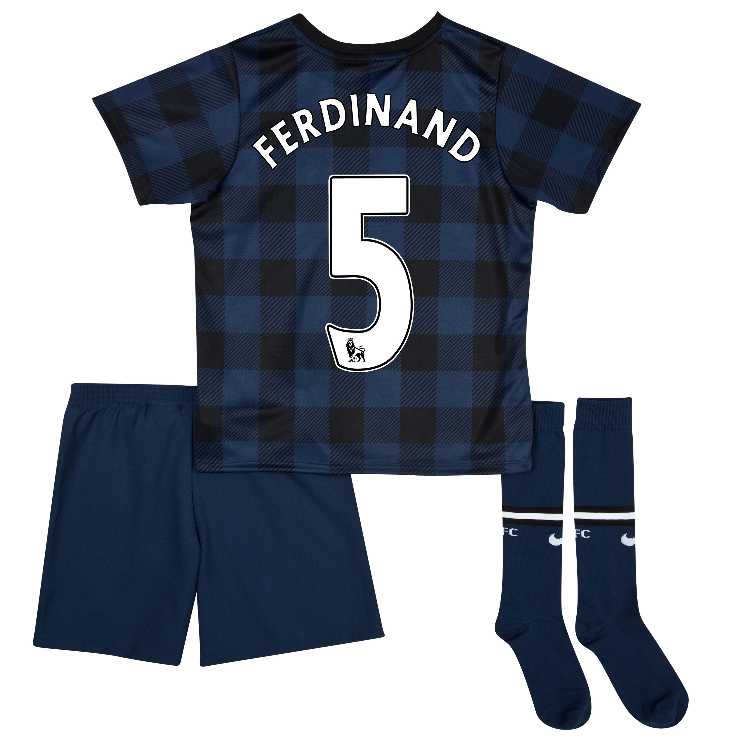 Manchester United Away Kit 2013/14 - Little Boys with Ferdinand 5 printing