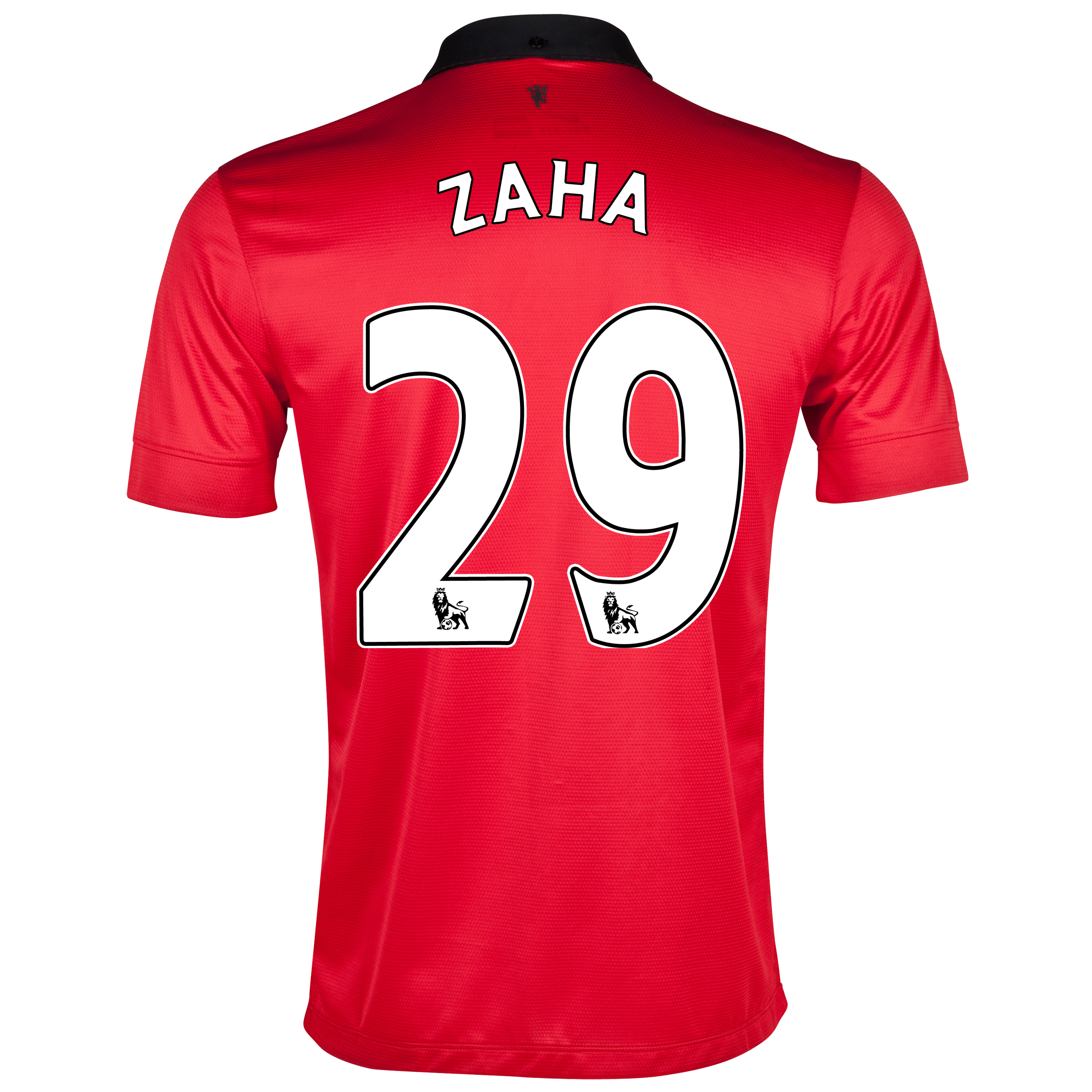 Manchester United Home Shirt 2013/14 with Zaha 29 printing