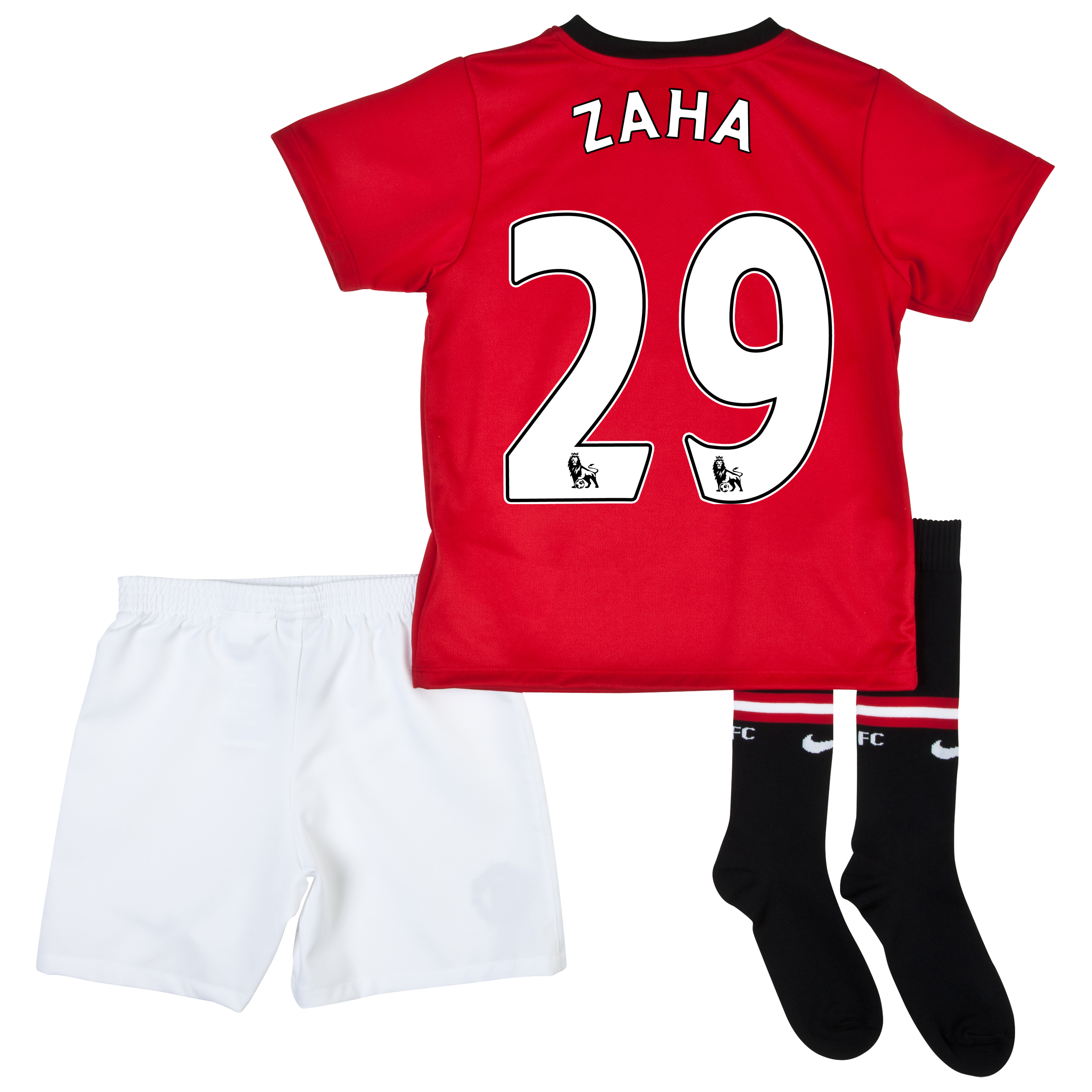 Manchester United Home Kit 2013/14 - Little Boys with Zaha 29 printing