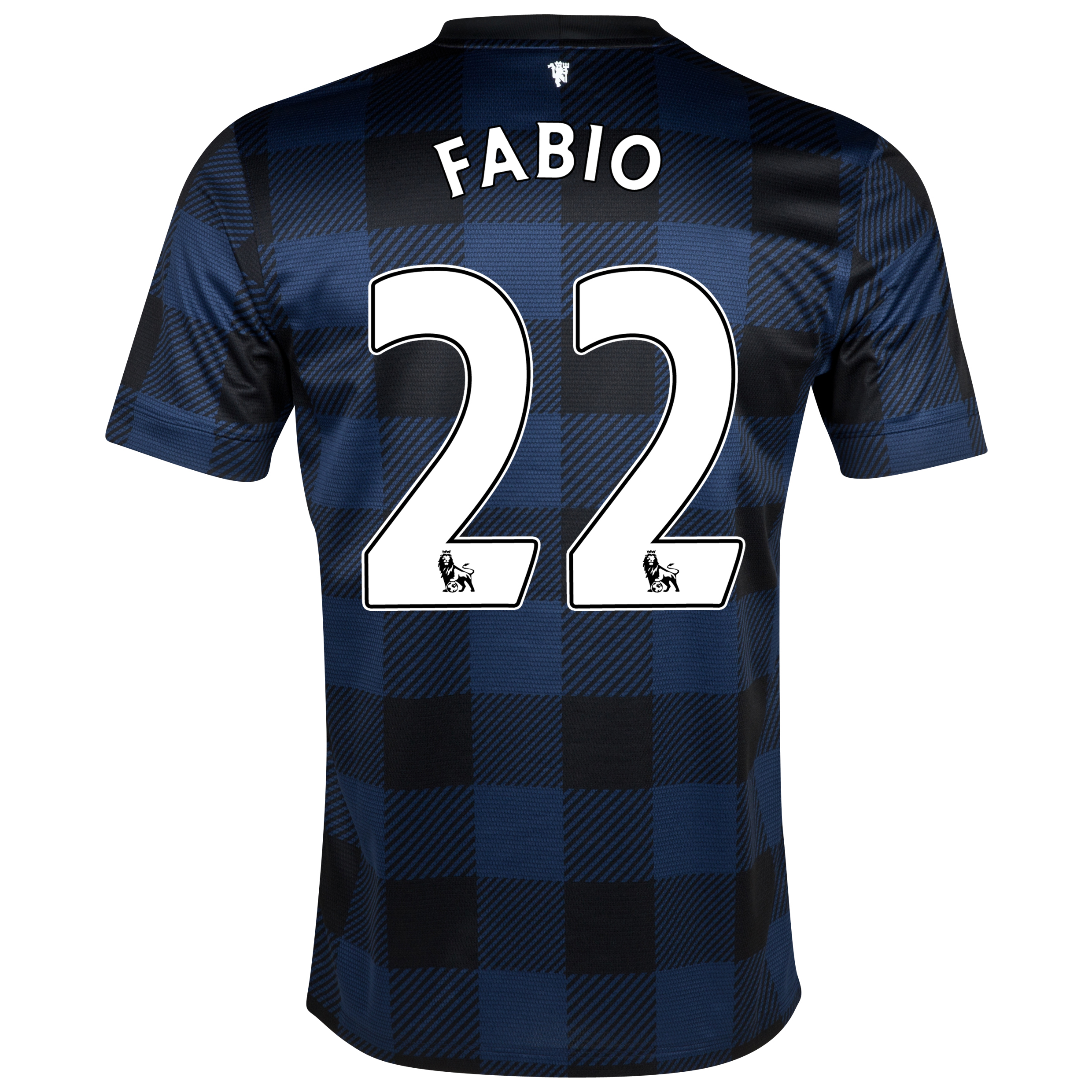 Manchester United Away Shirt 2013/14 - Kids with Fabio 22 printing