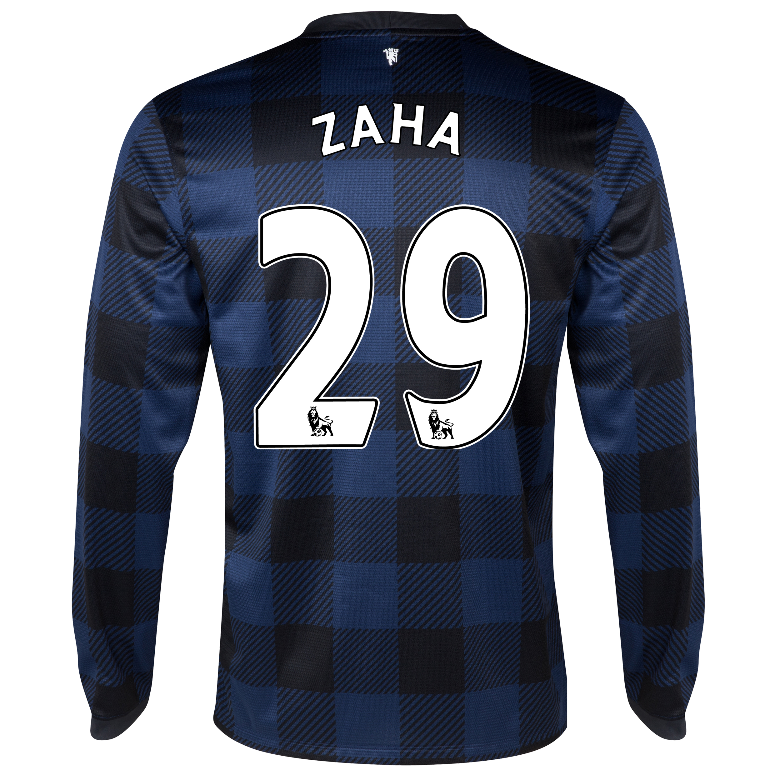 Manchester United Away Shirt 2013/14 - Long Sleeved with Zaha 29 printing