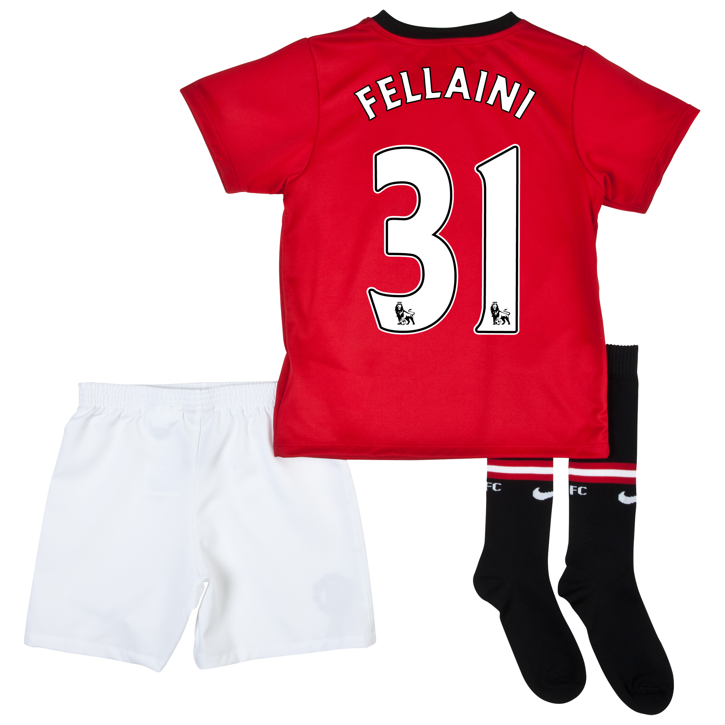 Manchester United Home Kit 2013/14 - Little Boys with Fellaini 31 printing