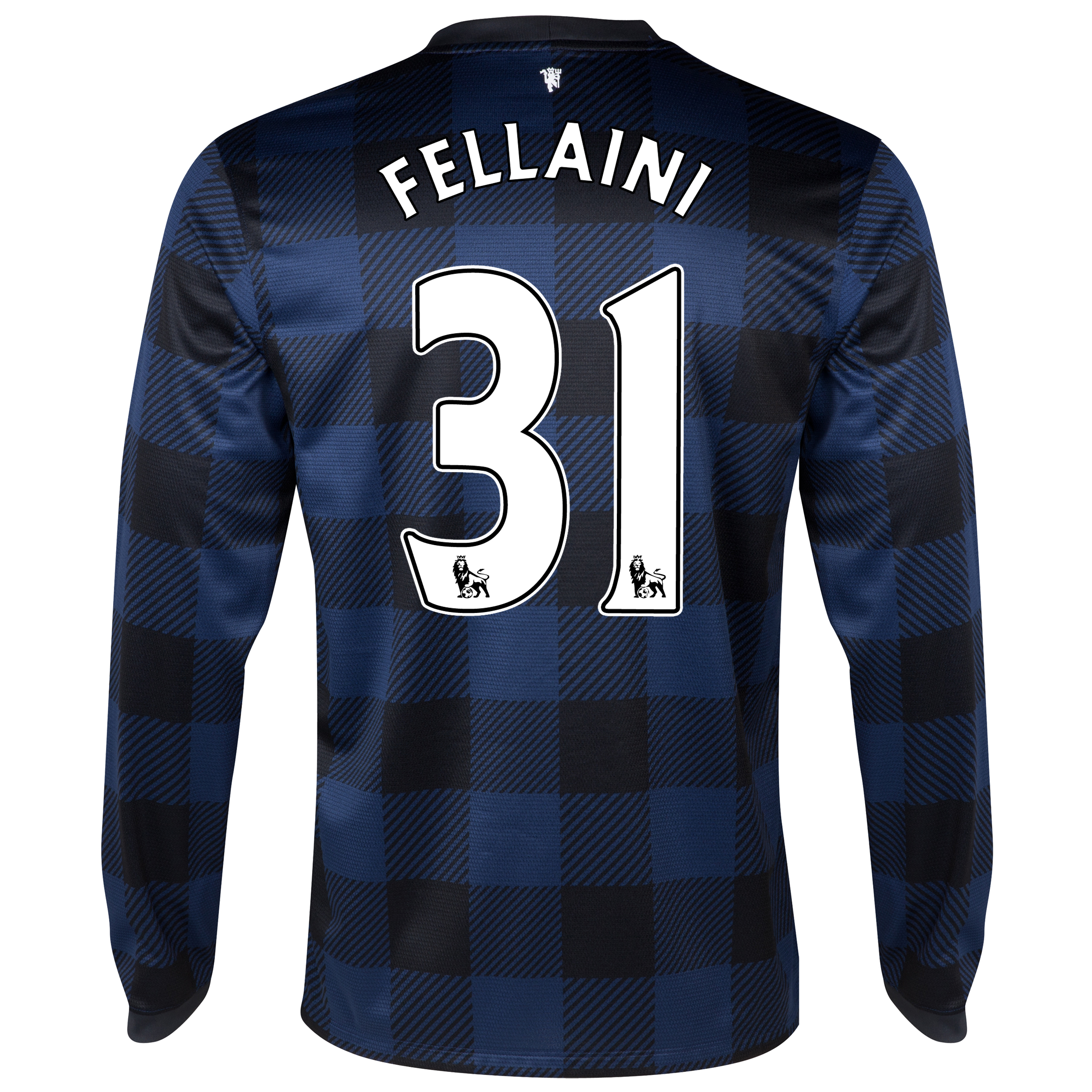 Manchester United Away Shirt 2013/14 - Long Sleeved - Kids with Fellaini 31 printing