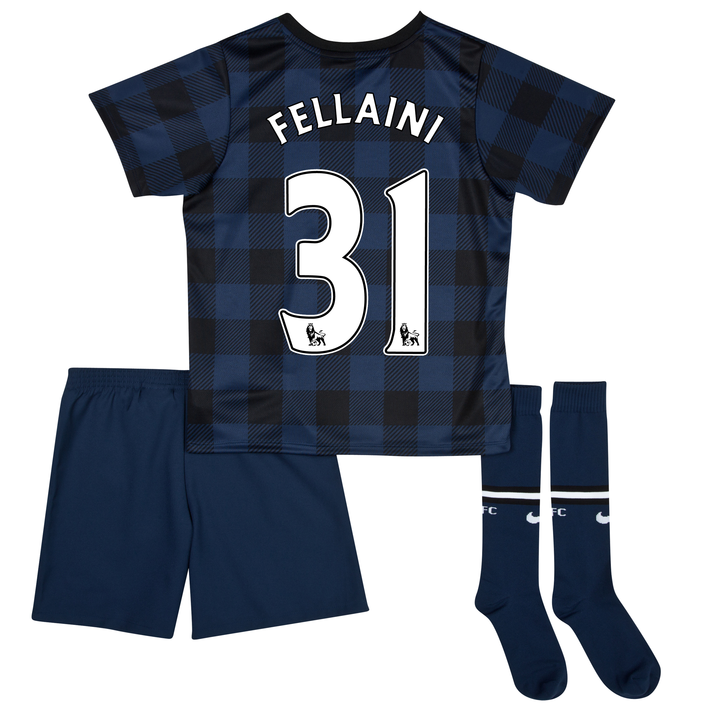 Manchester United Away Kit 2013/14 - Little Boys with Fellaini 31 printing