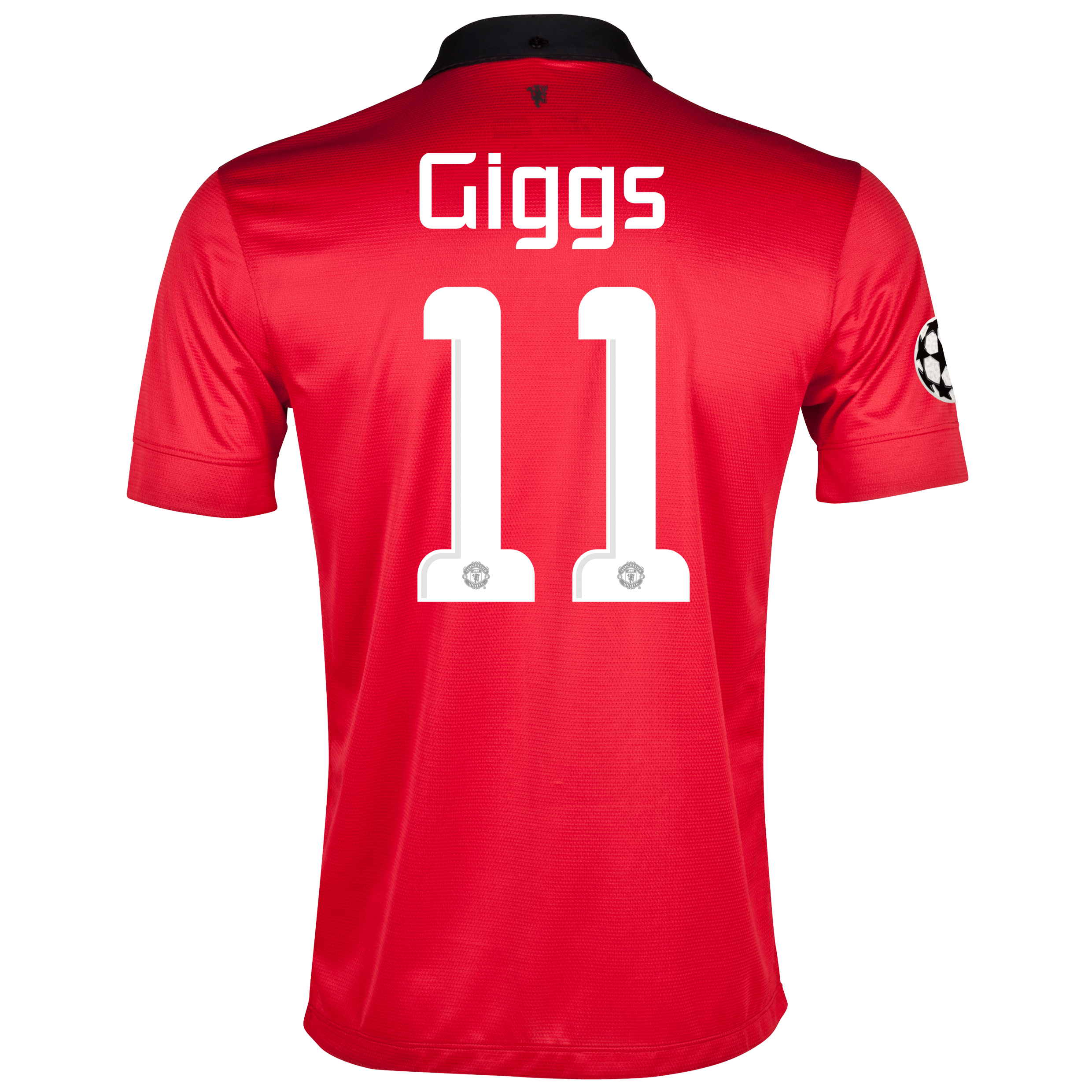 Manchester United UEFA Champions League Home Shirt 2013/14 with Giggs 11 printing