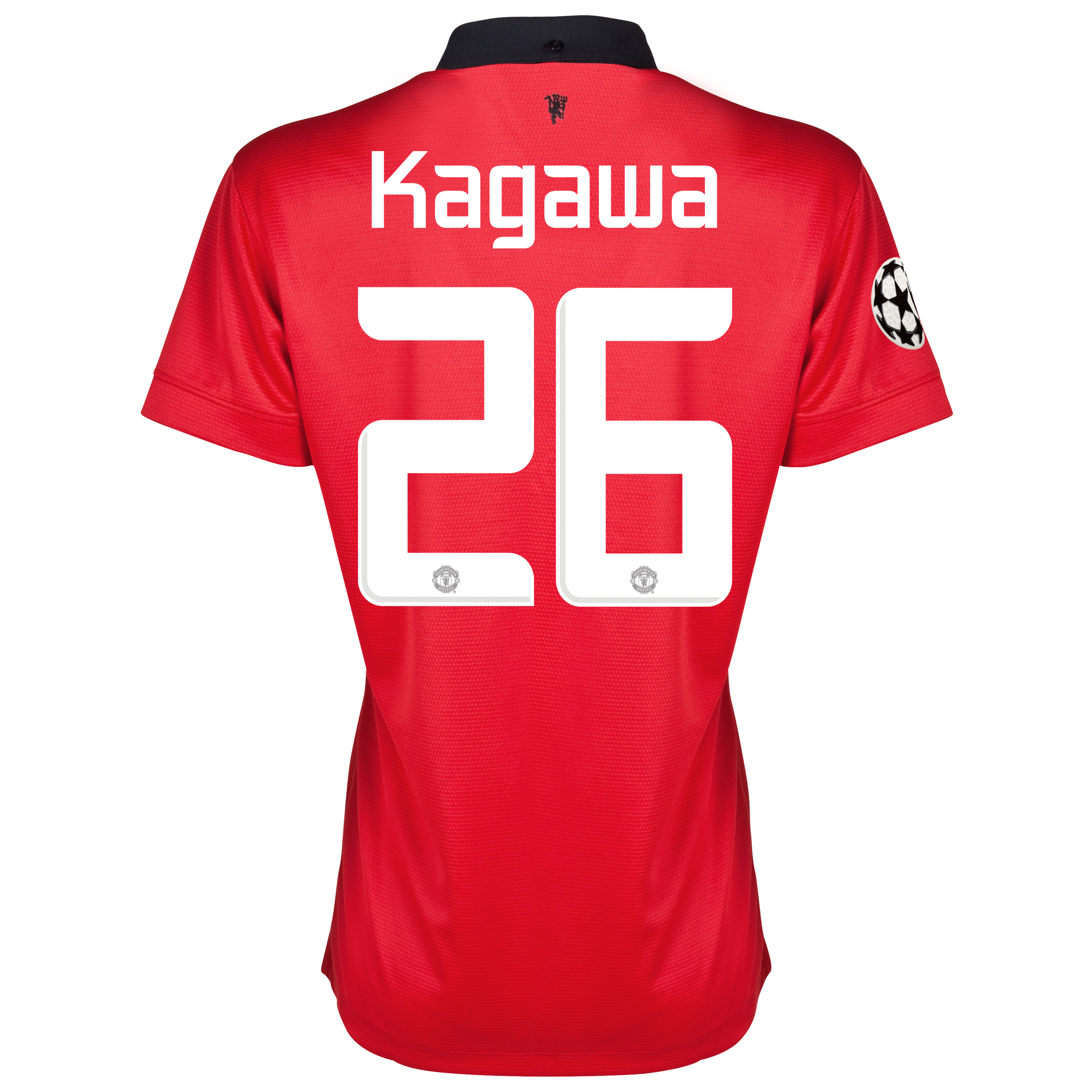 Manchester United UEFA Champions League Home Shirt 2013/14 - Womens with Kagawa 26 printing