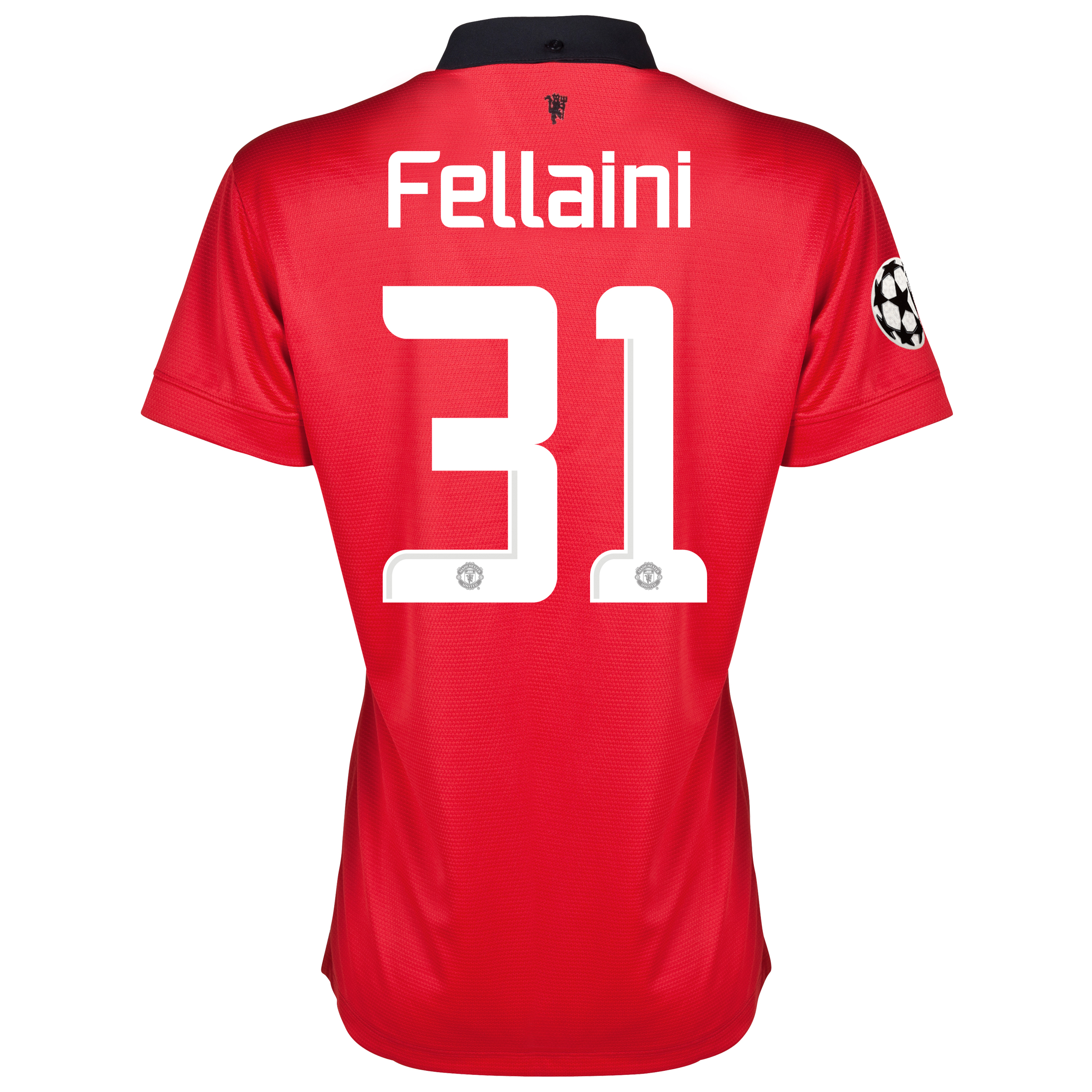 Manchester United UEFA Champions League Home Shirt 2013/14 - Womens with Fellaini 31 printing