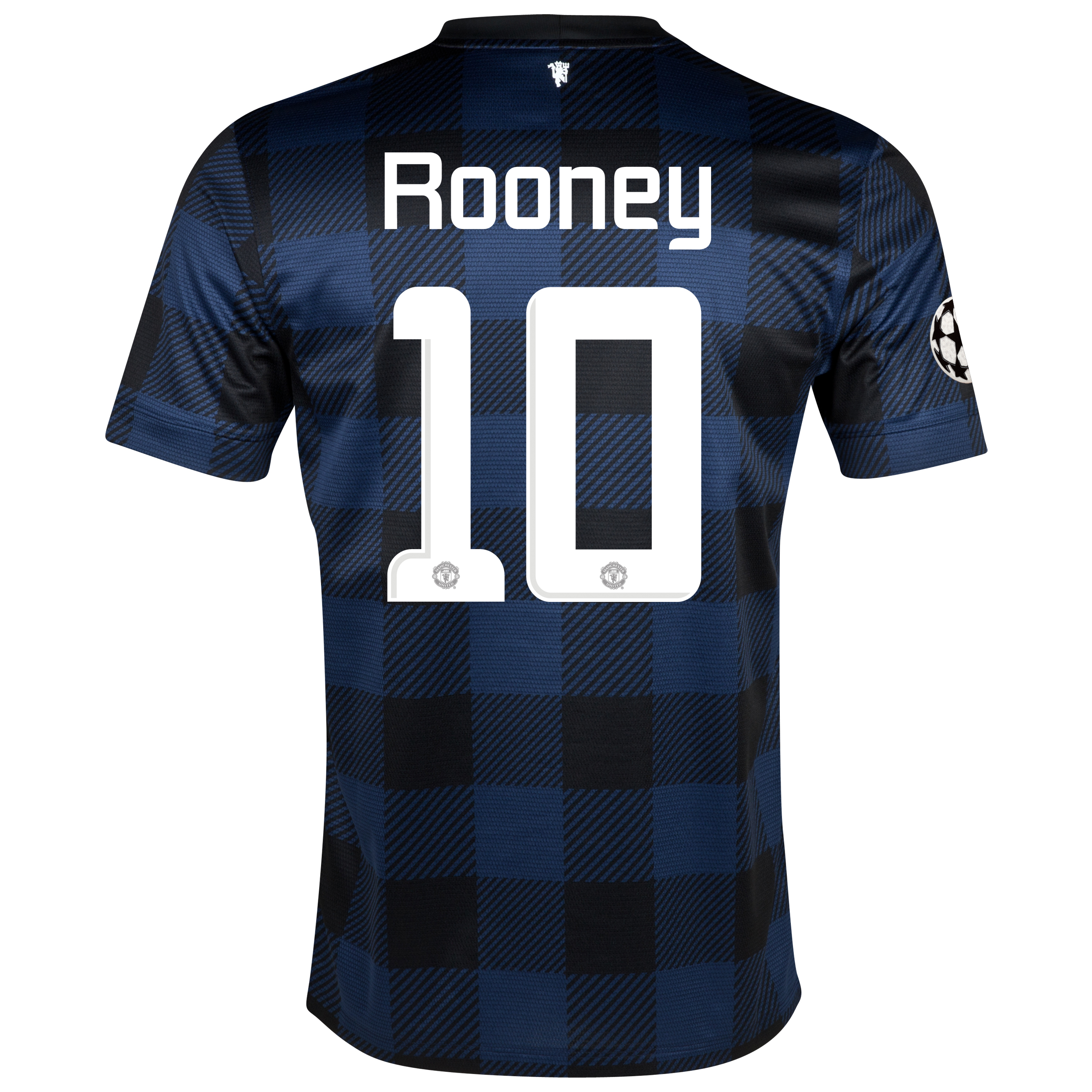 Manchester United UEFA Champions League Away Shirt 2013/14 with Rooney 10 printing