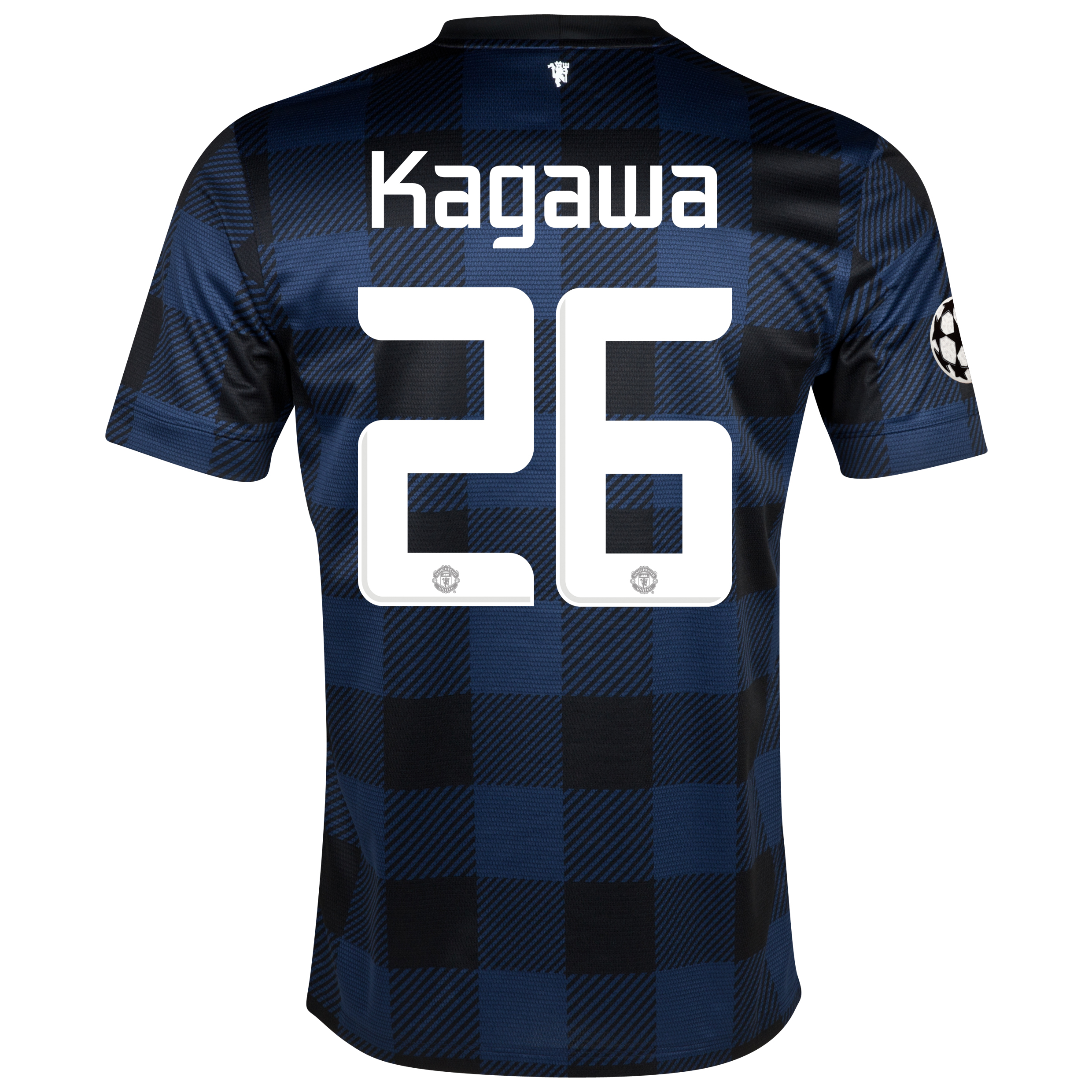 Manchester United UEFA Champions League Away Shirt 2013/14 with Kagawa 26 printing