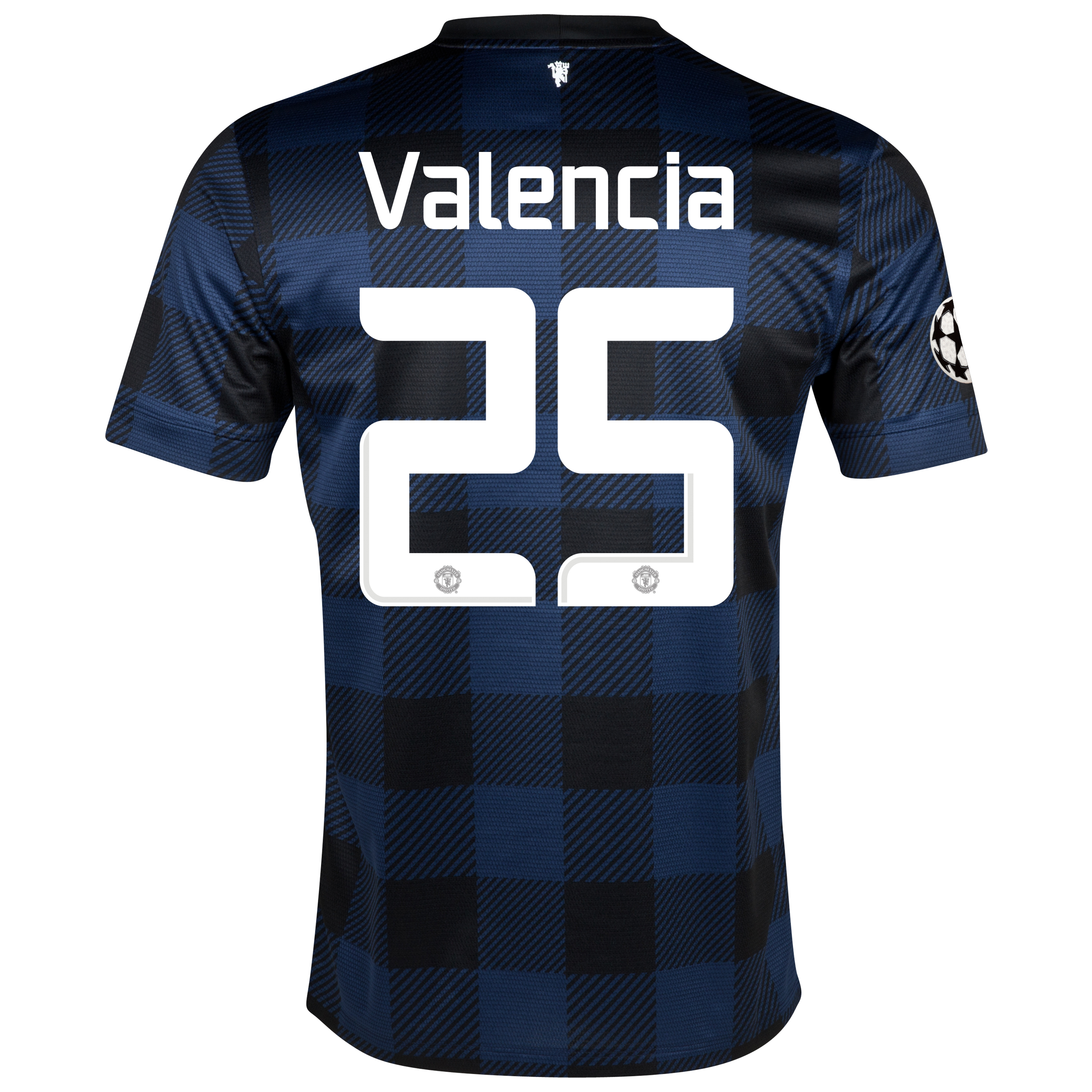 Manchester United UEFA Champions League Away Shirt 2013/14 - Kids with Valencia 25 printing