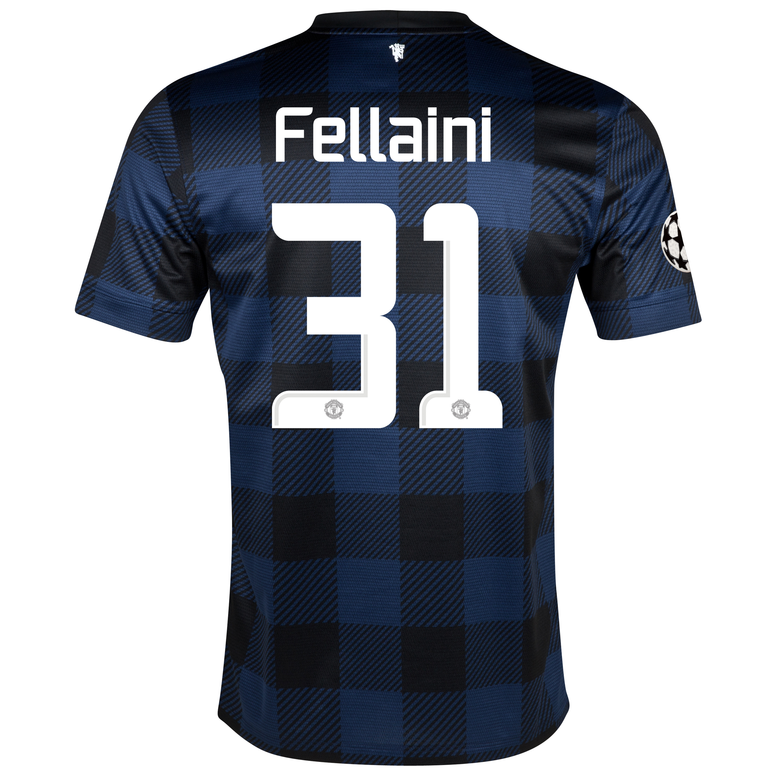 Manchester United UEFA Champions League Away Shirt 2013/14 - Kids with Fellaini 31 printing
