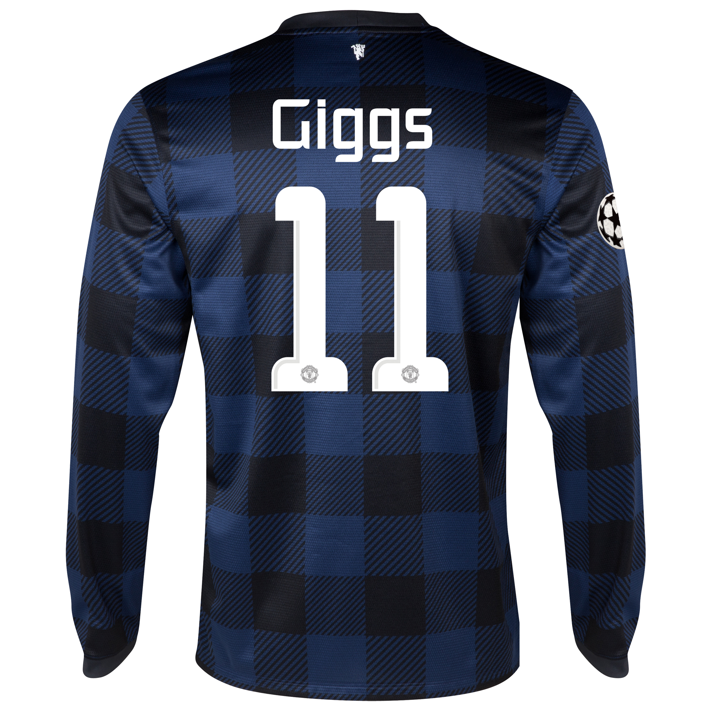 Manchester United UEFA Champions League Away Shirt 2013/14 - Long Sleeved - Kids with Giggs 11 printing