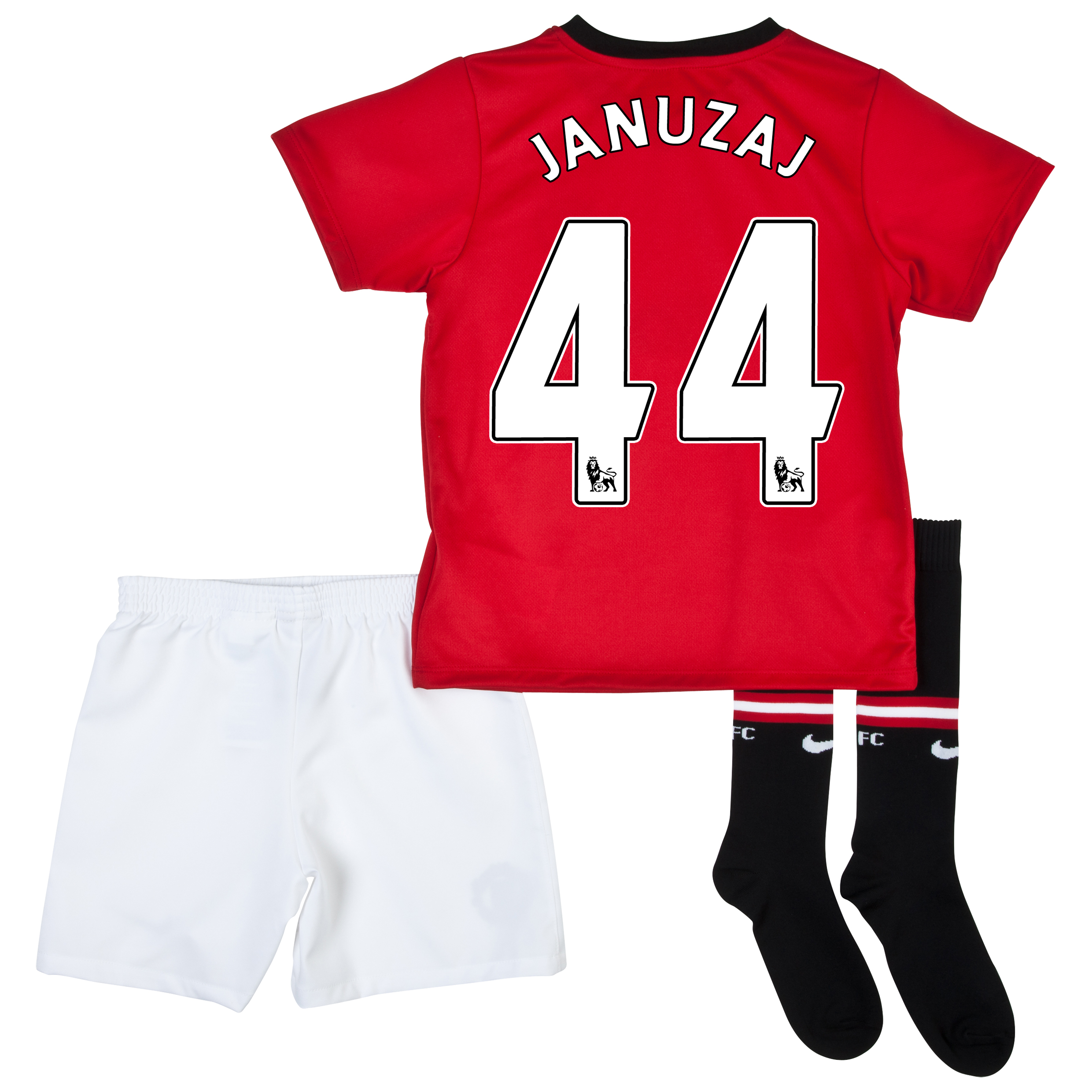Manchester United Home Kit 2013/14 - Little Boys with Januzaj 44 printing