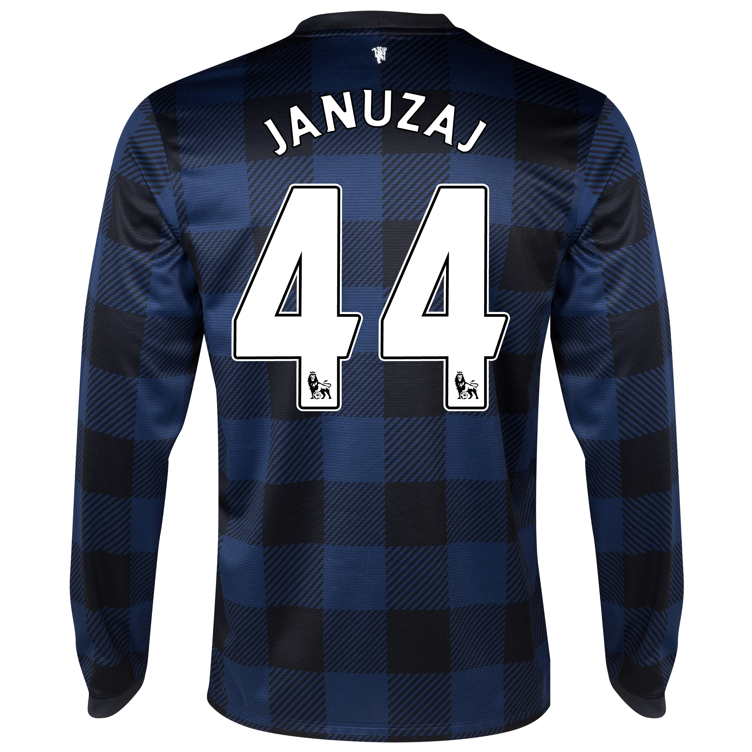 Manchester United Away Shirt 2013/14 - Long Sleeved - Kids with Januzaj 44 printing