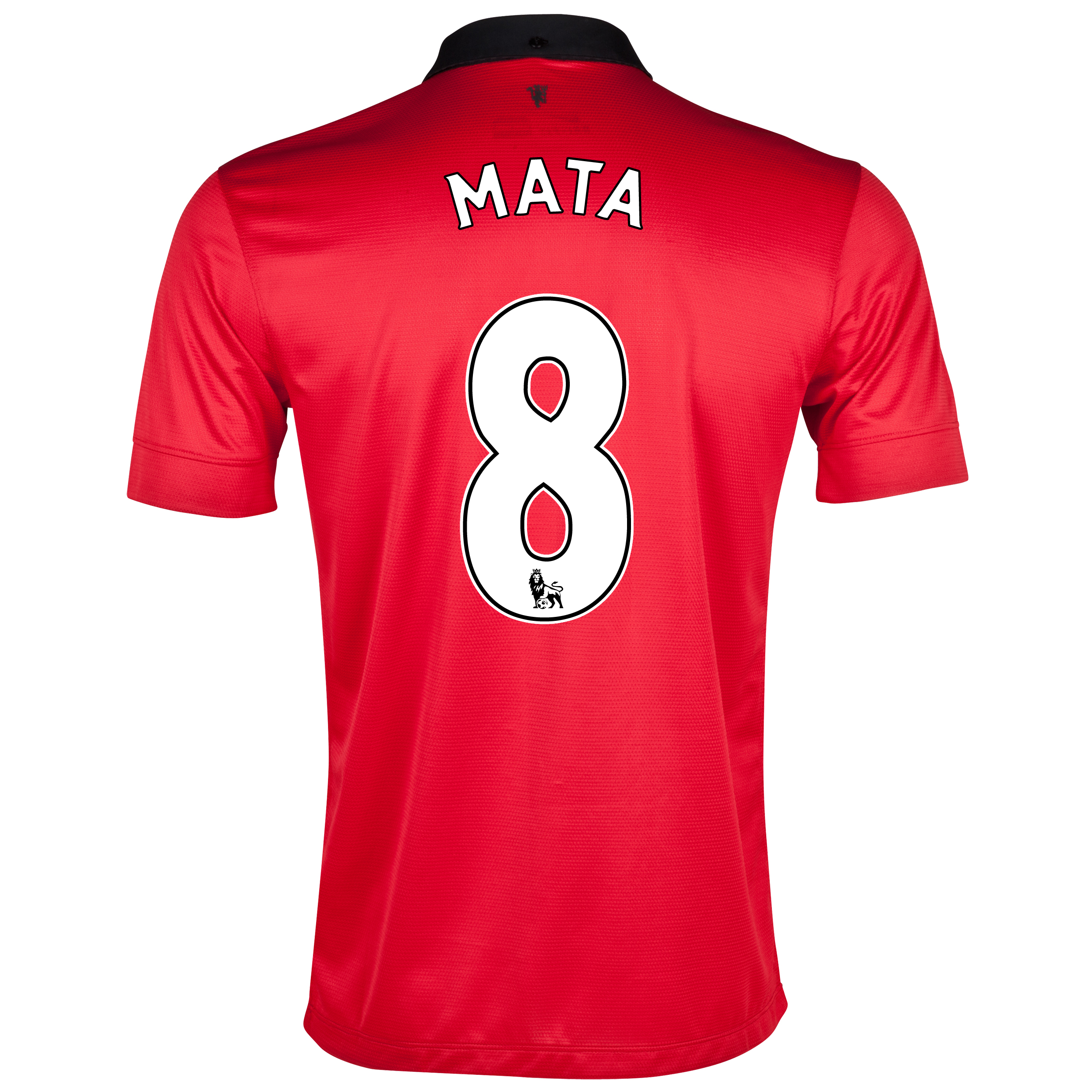 Manchester United Home Shirt 2013/14 with Mata 8 printing