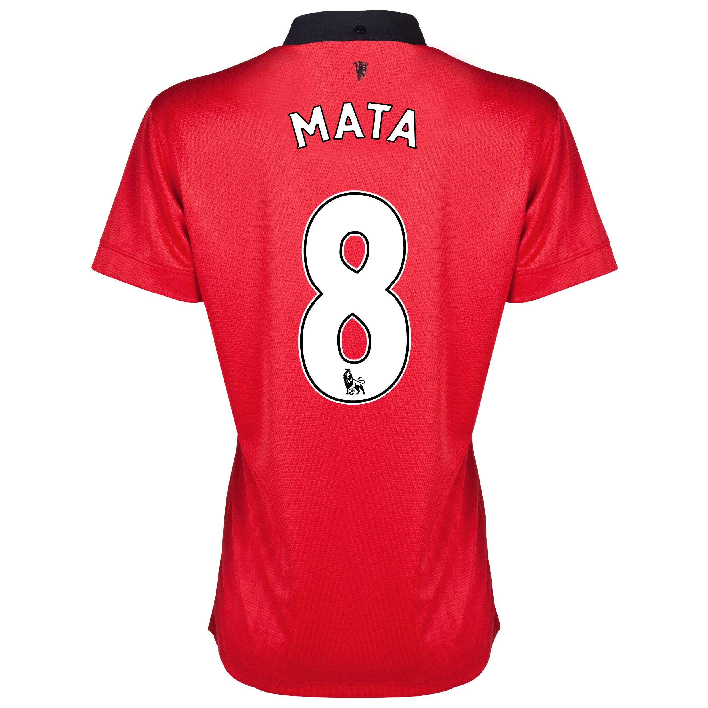 Manchester United Home Shirt 2013/14 - Womens with Mata 8 printing
