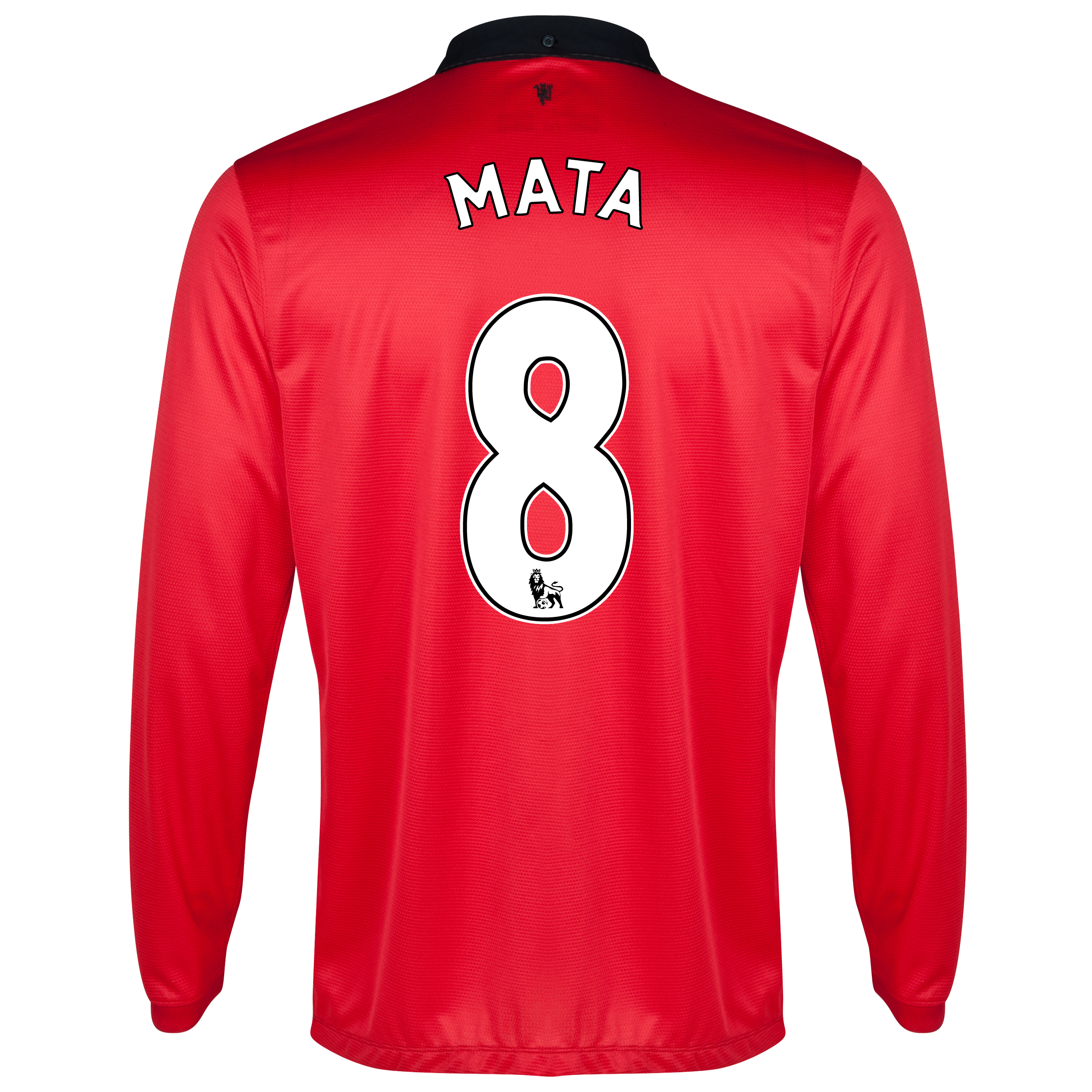 Manchester United Home Shirt 2013/14 - Long Sleeved - Kids with Mata 8 printing
