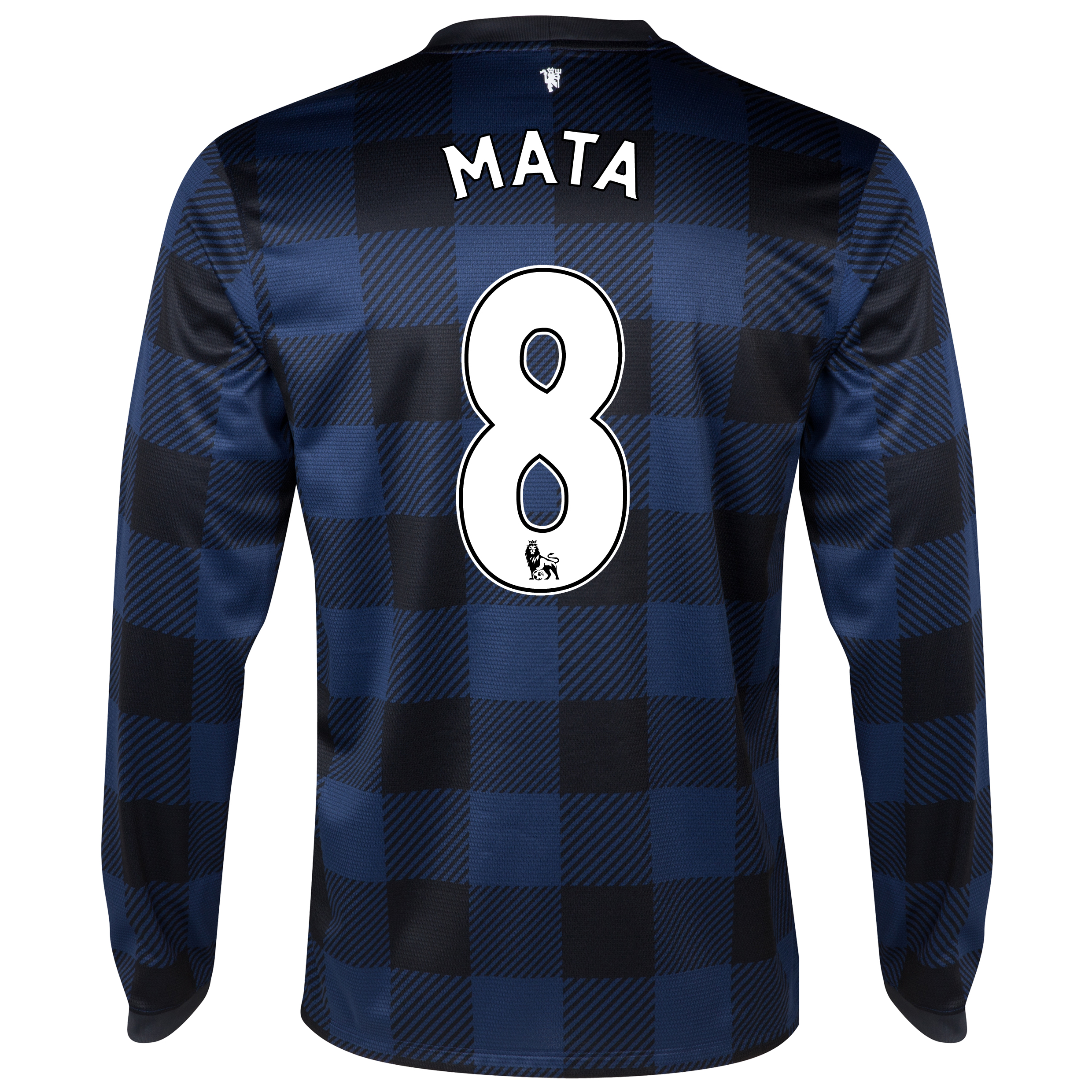 Manchester United Away Shirt 2013/14 - Long Sleeved with Mata 8 printing