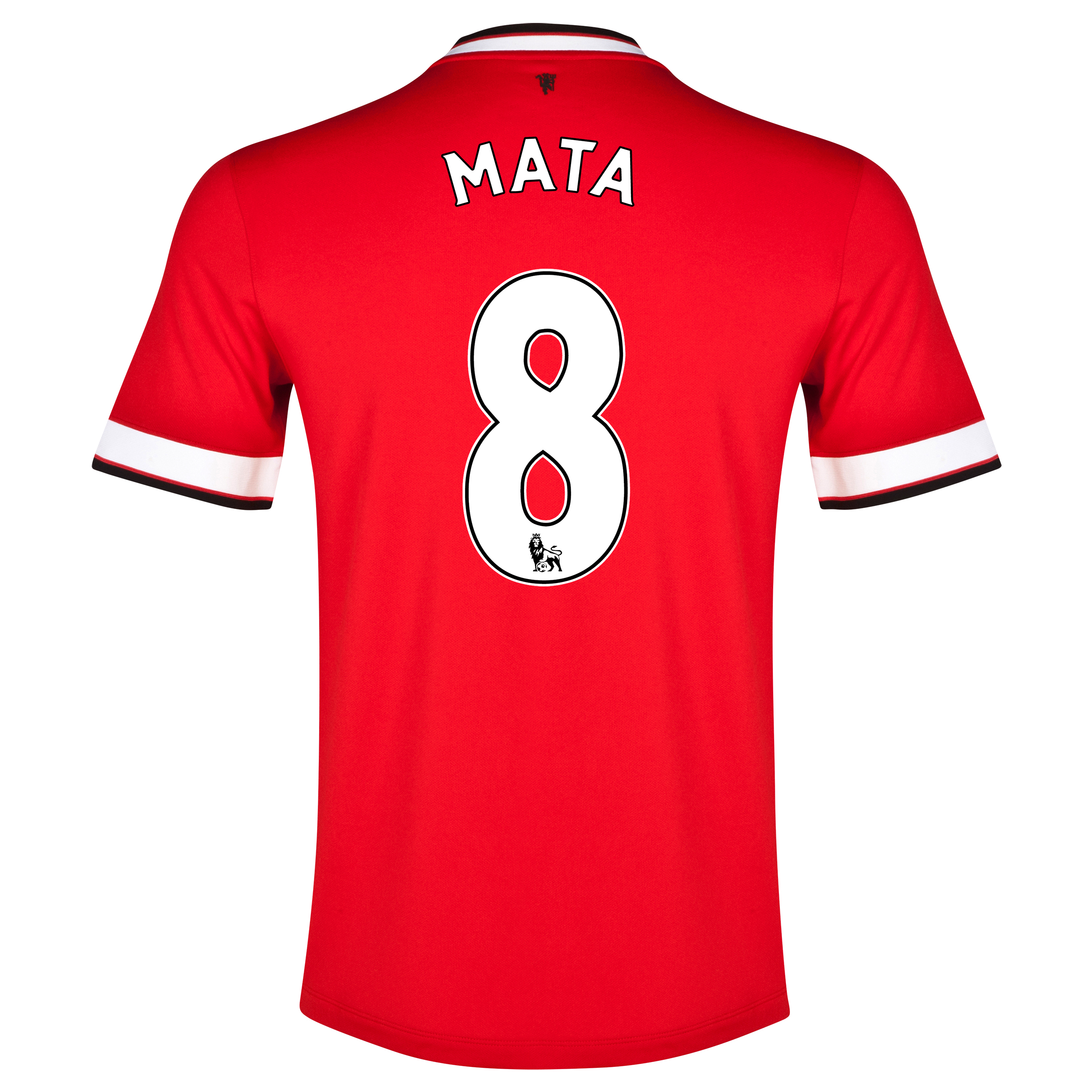 Manchester United Home Shirt 2014/15 - Kids Red with Mata 8 printing