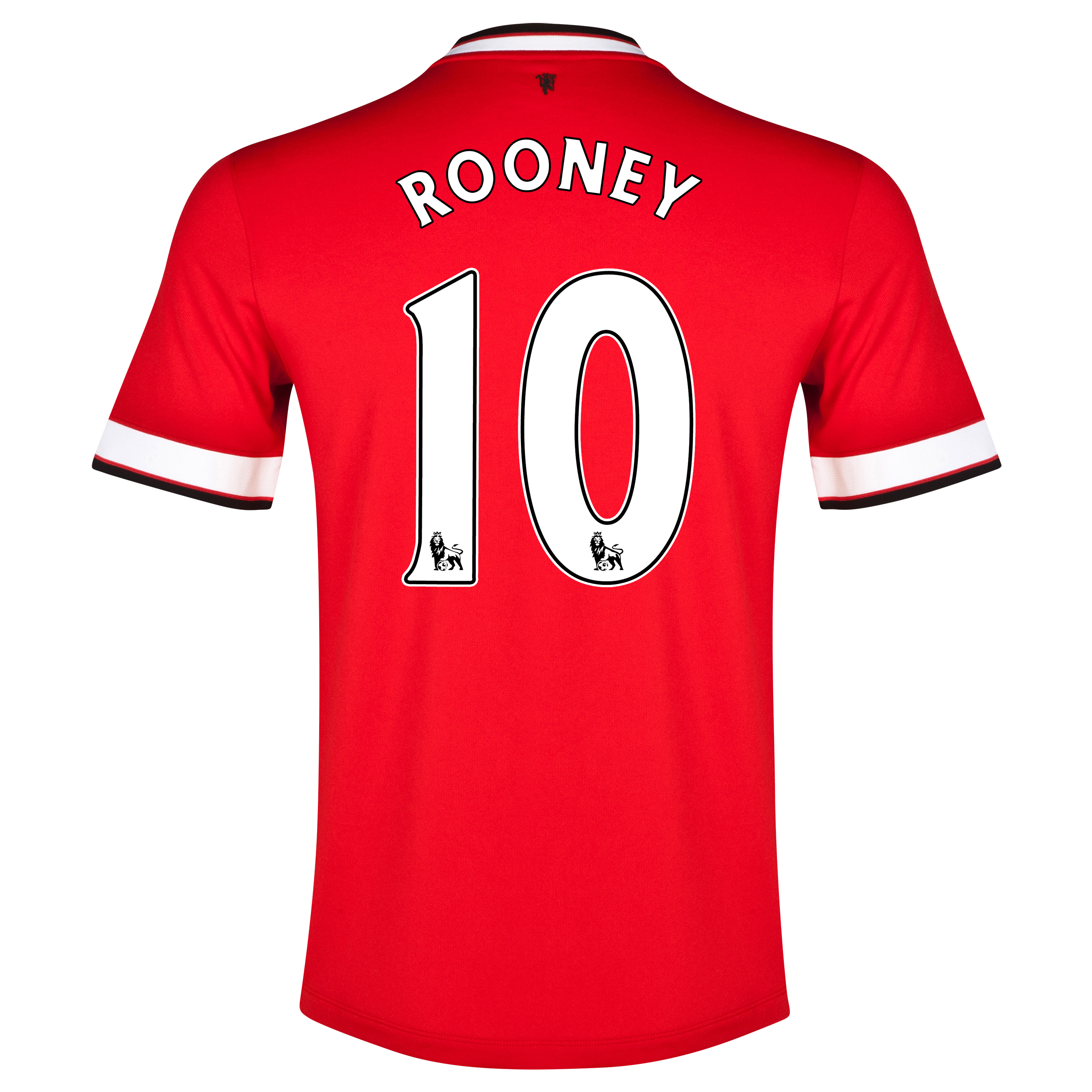 Manchester United Home Shirt 2014/15 - Kids Red with Rooney 10 printing