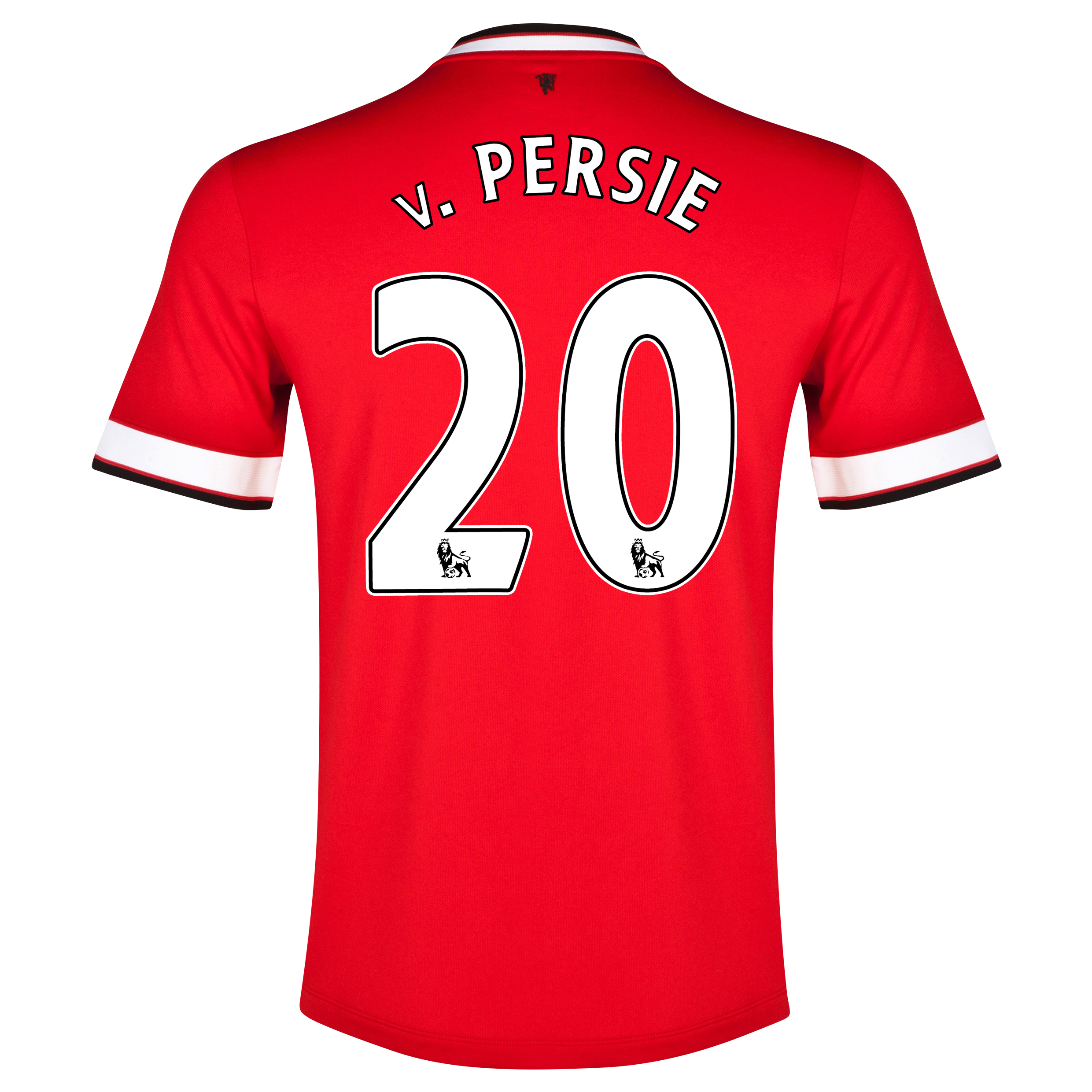 Manchester United Home Shirt 2014/15 - Kids Red with v.Persie 20 printing