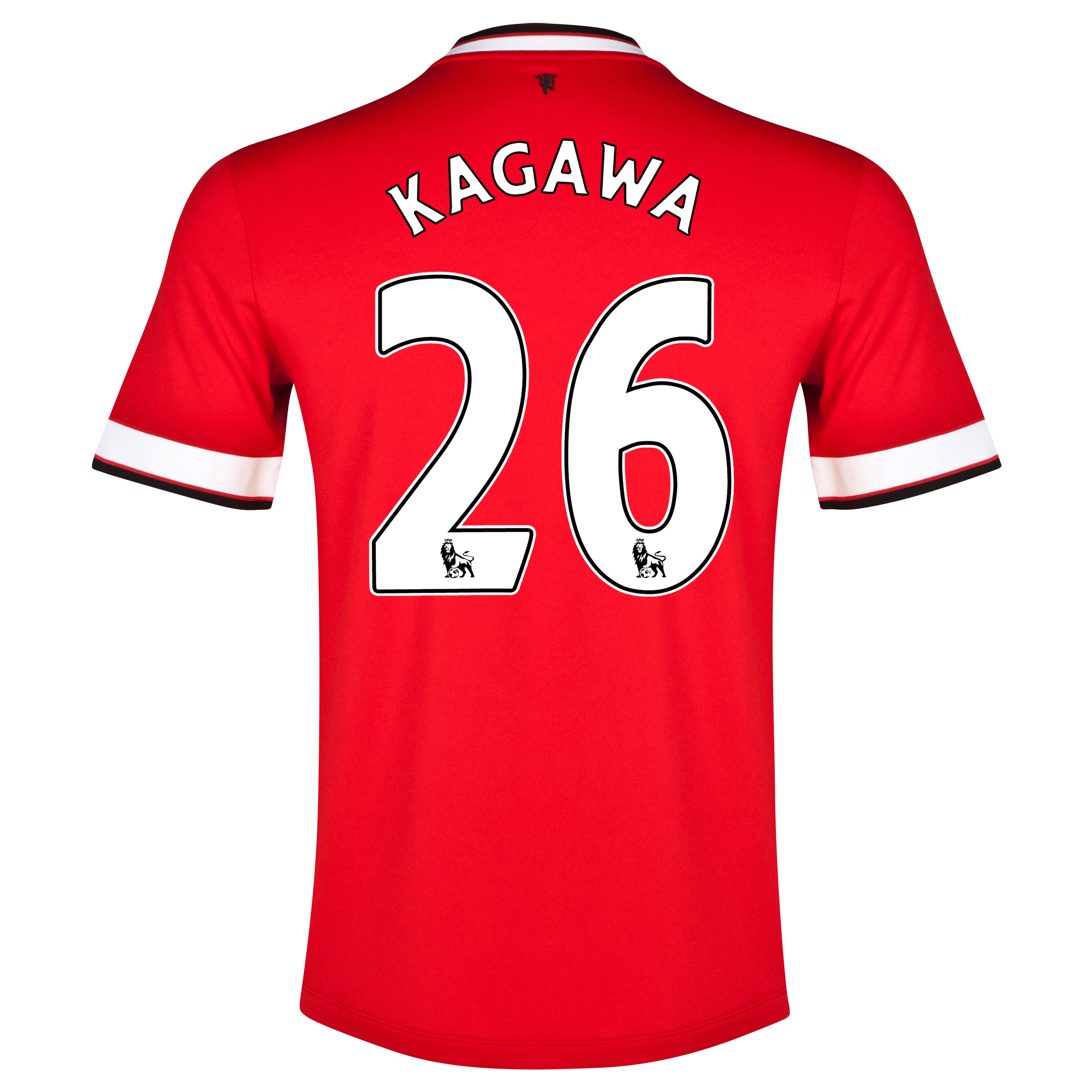 Manchester United Home Shirt 2014/15 - Kids Red with Kagawa 26 printing