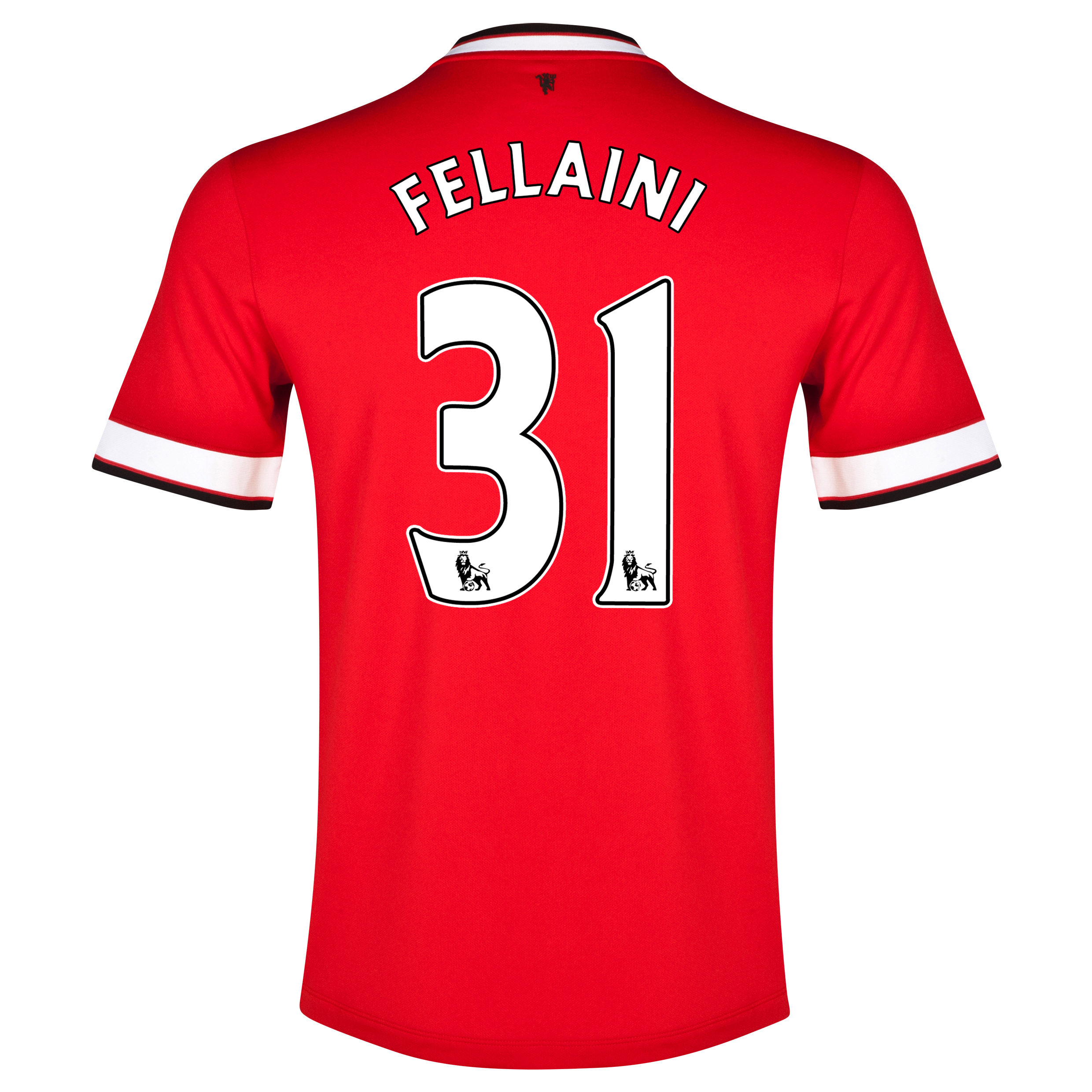 Manchester United Home Shirt 2014/15 - Kids Red with Fellaini 31 printing