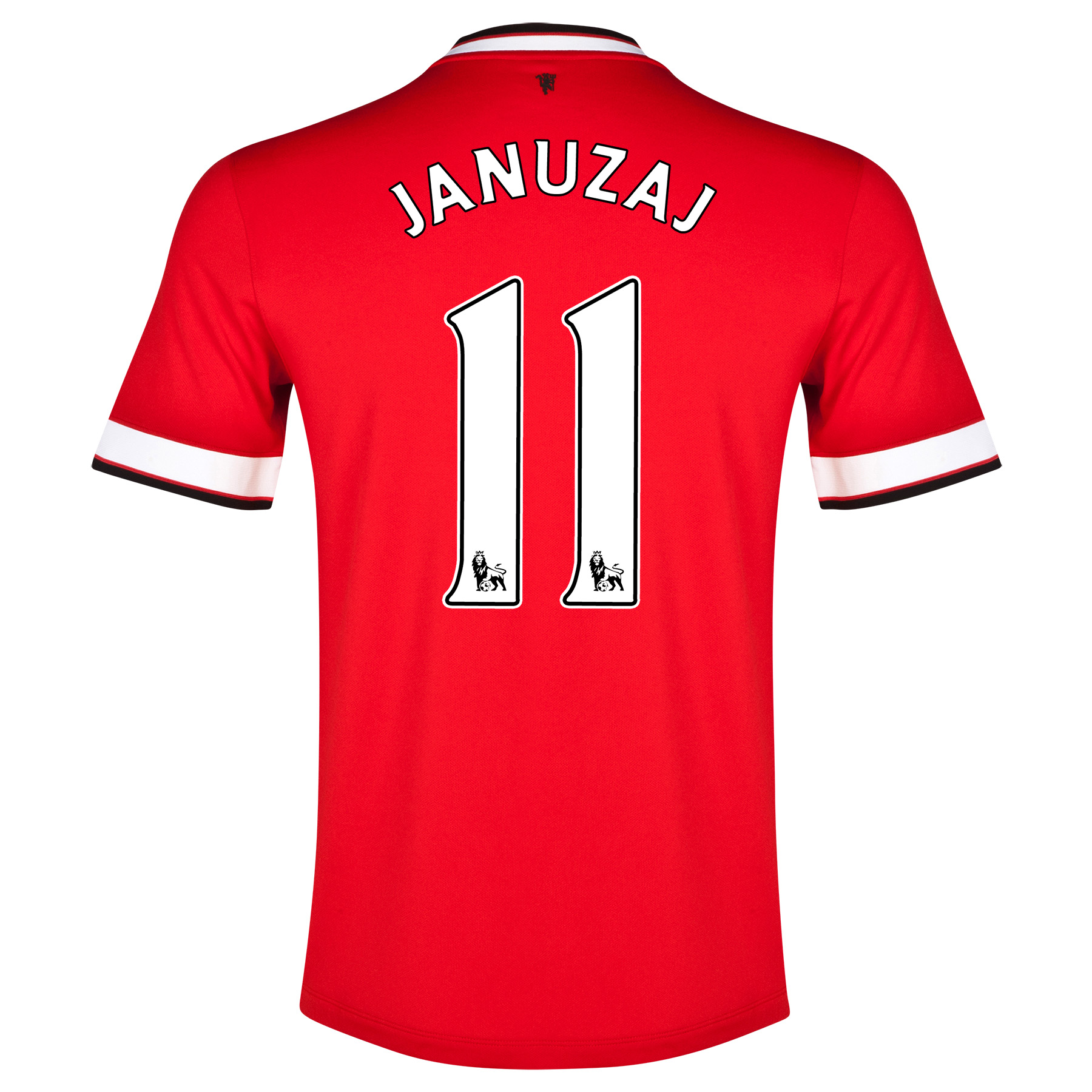 Manchester United Home Shirt 2014/15 - Kids Red with Januzaj 11 printing