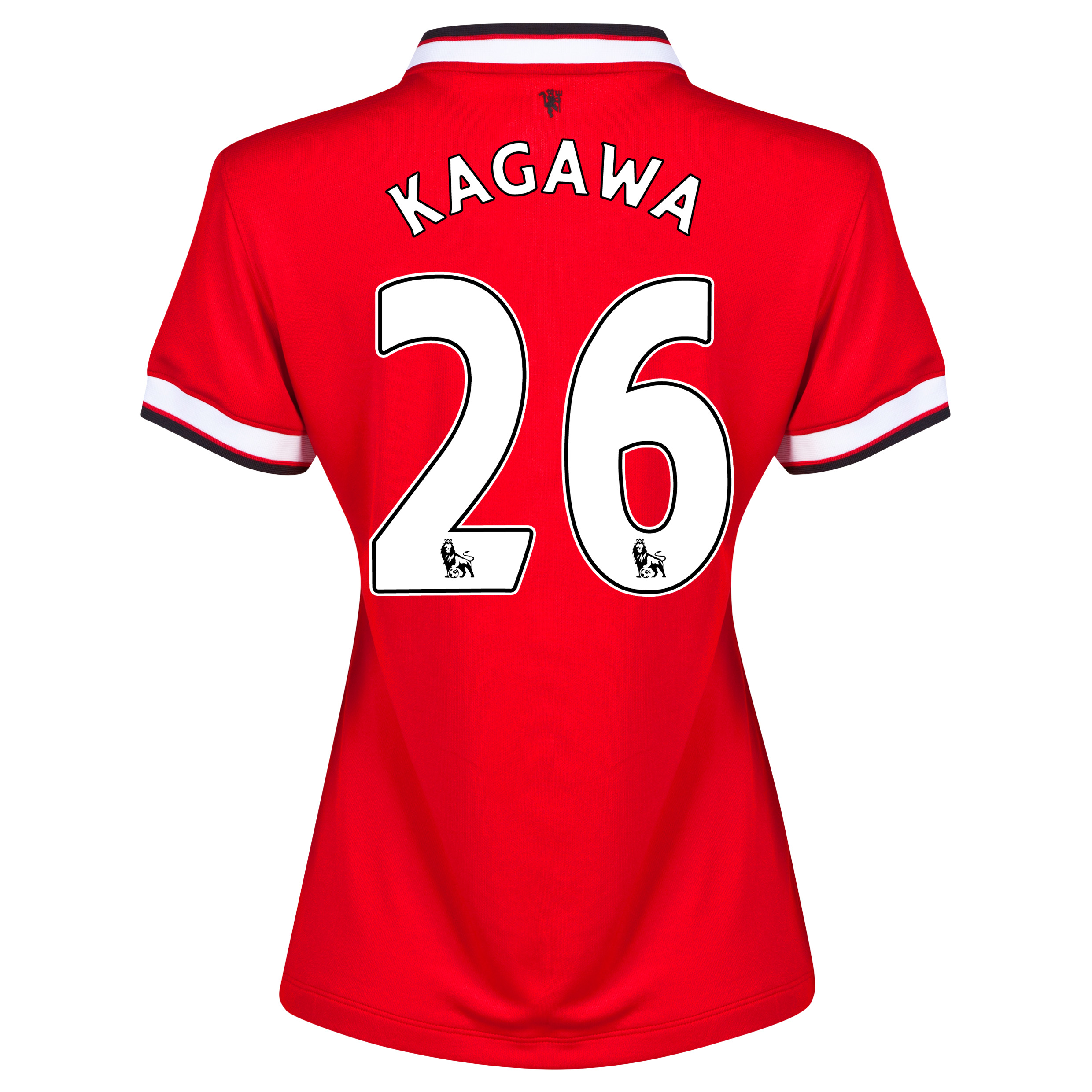 Manchester United Home Shirt 2014/15 - Womens Red with Kagawa 26 printing