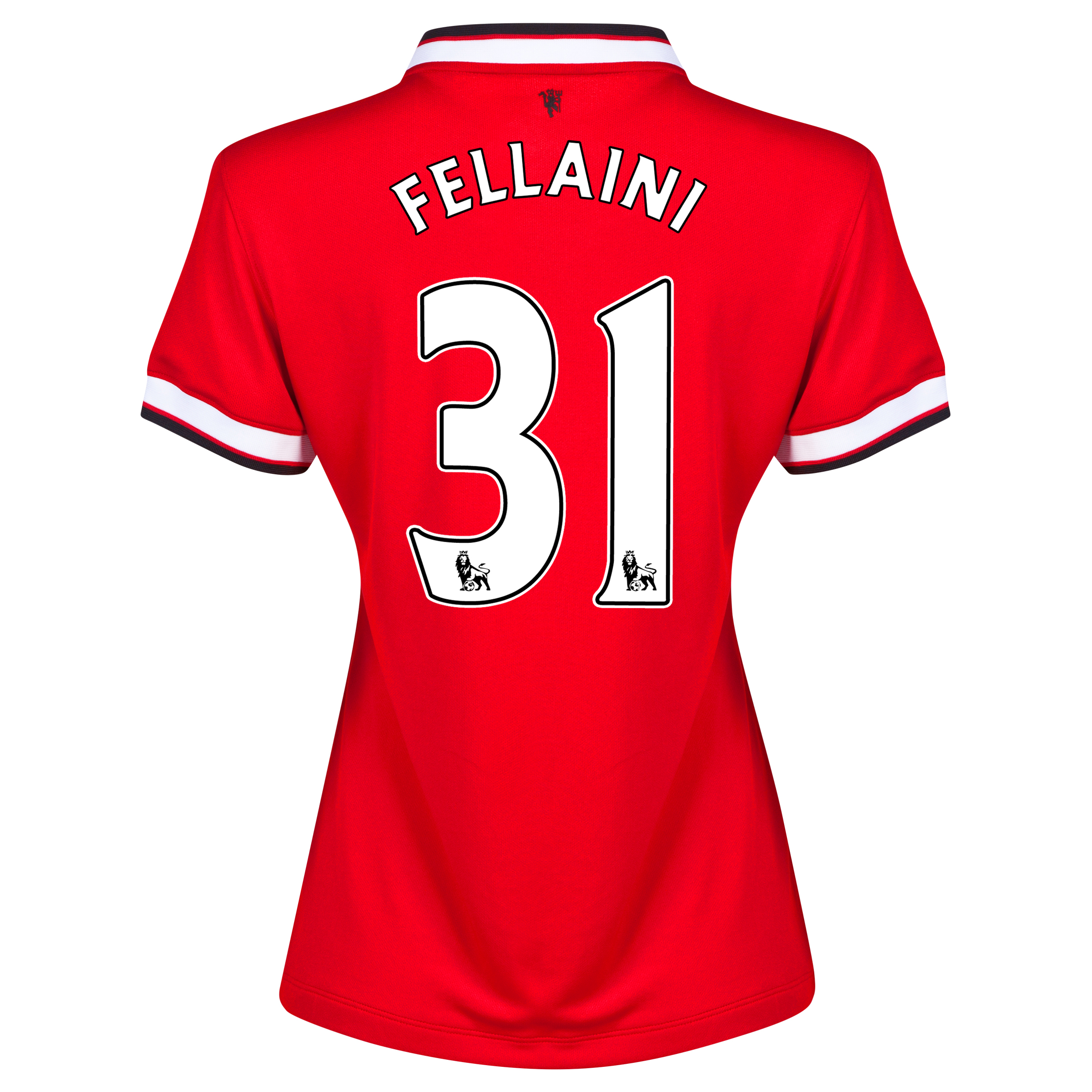 Manchester United Home Shirt 2014/15 - Womens Red with Fellaini 31 printing