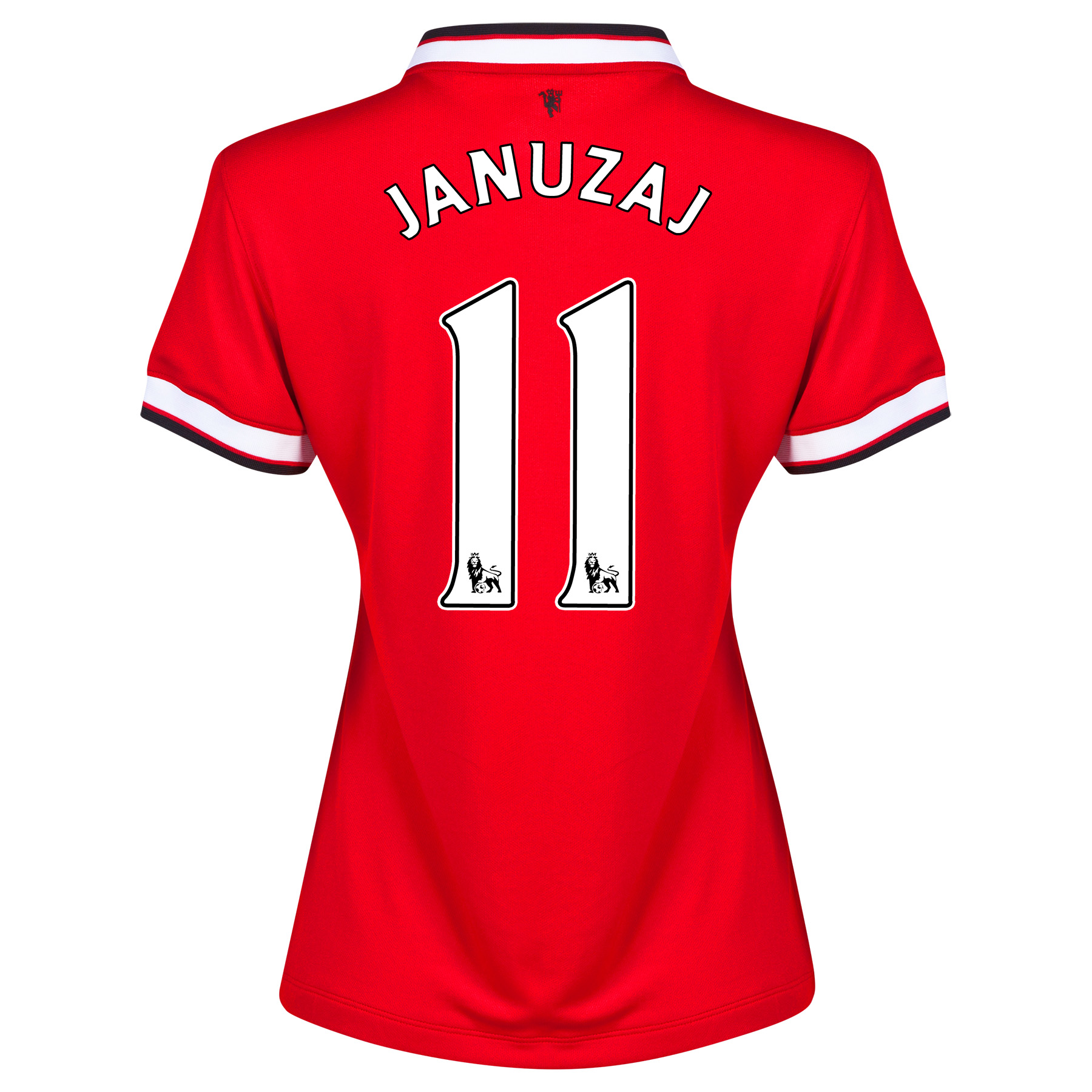 Manchester United Home Shirt 2014/15 - Womens Red with Januzaj 11 printing