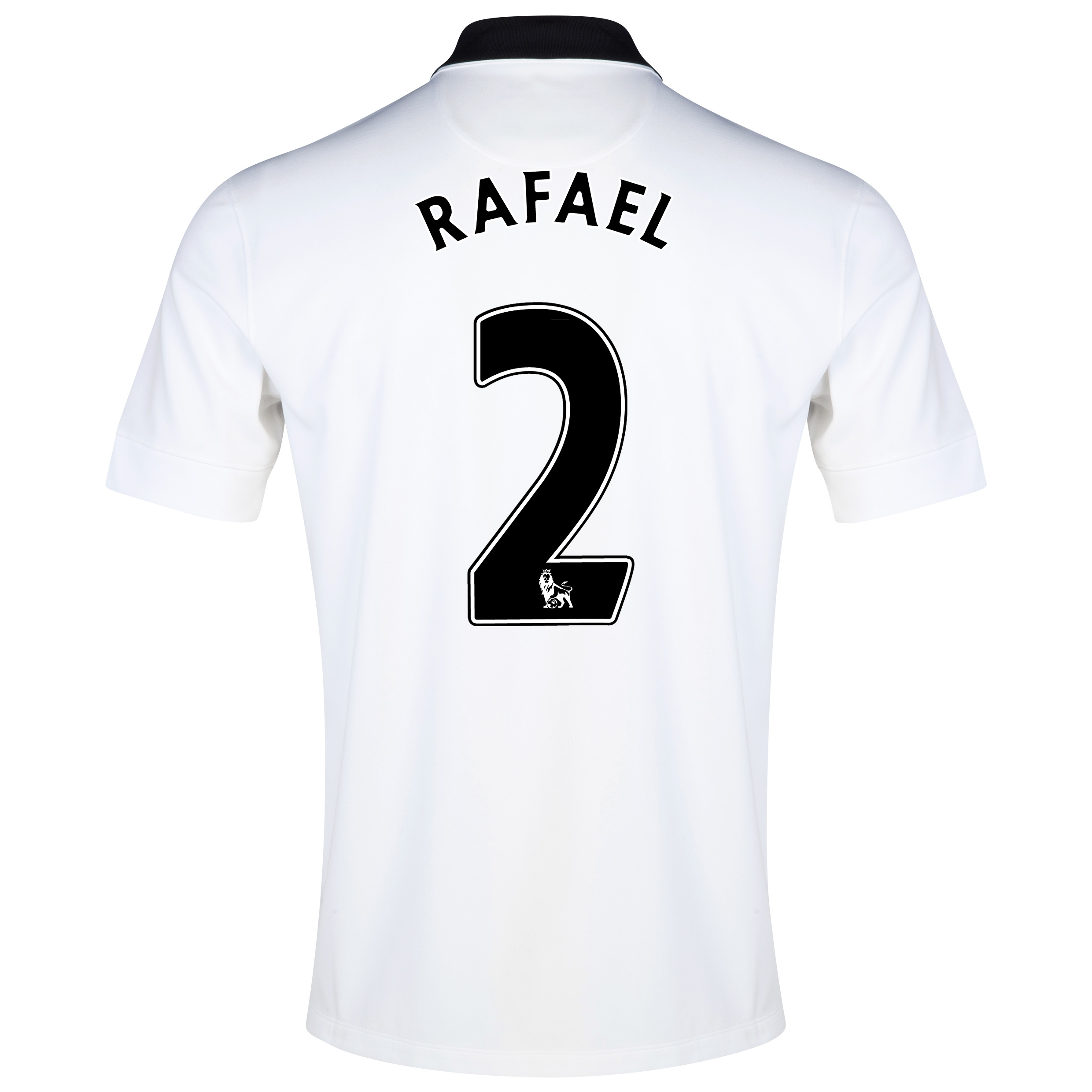 Manchester United Away Shirt 2014/15 White with Rafael 2 printing