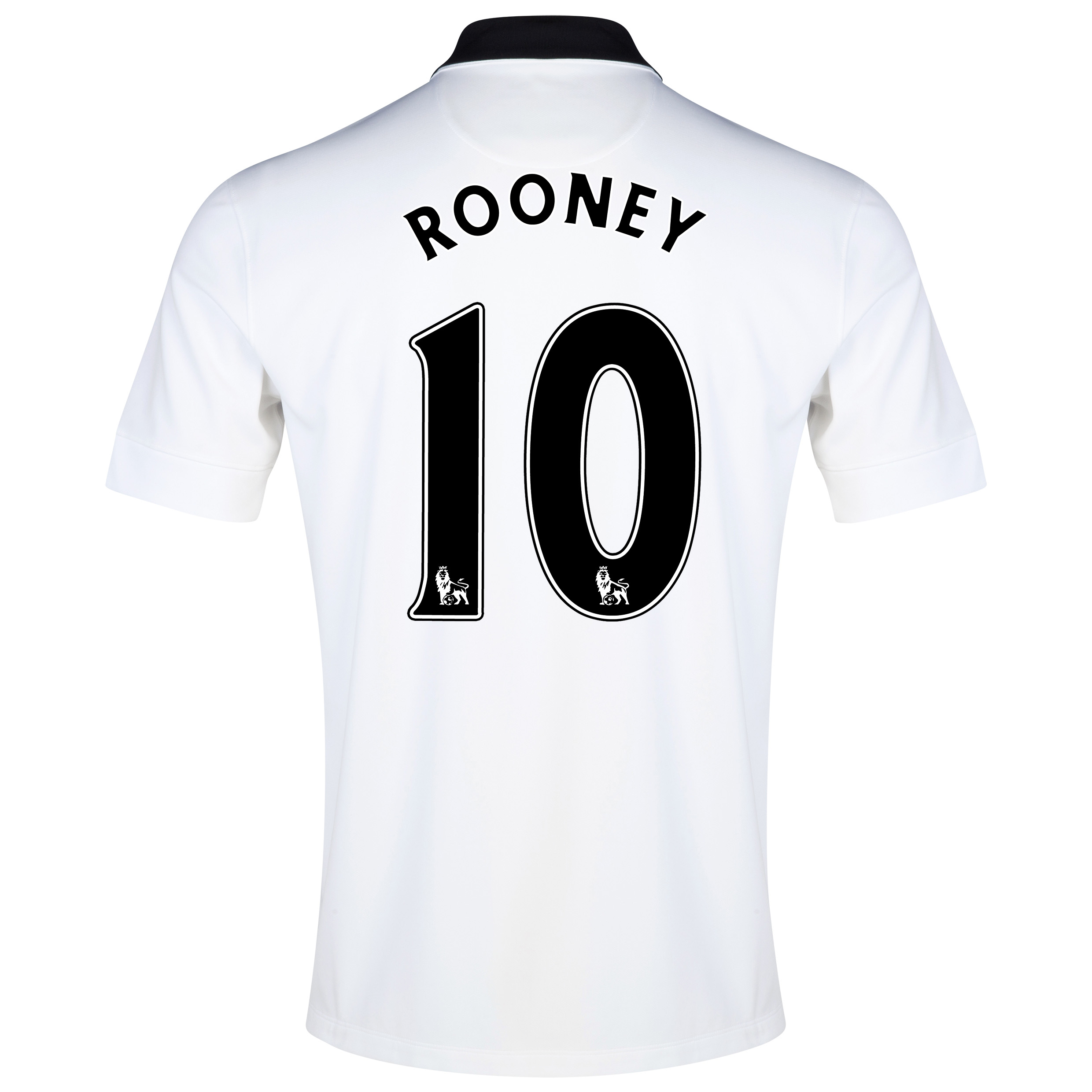 Manchester United Away Shirt 2014/15 White with Rooney 10 printing