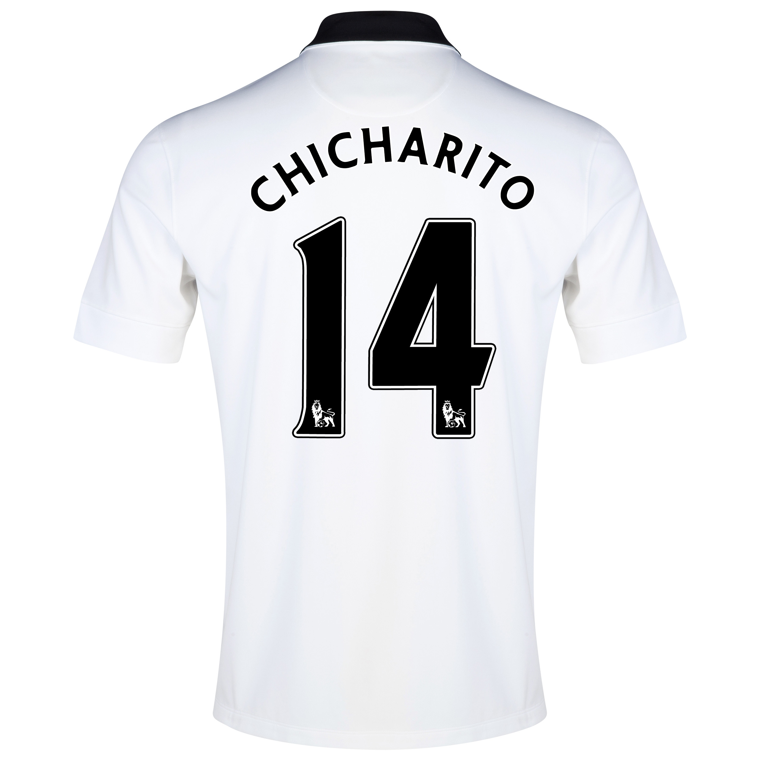Manchester United Away Shirt 2014/15 White with Chicharito 14 printing