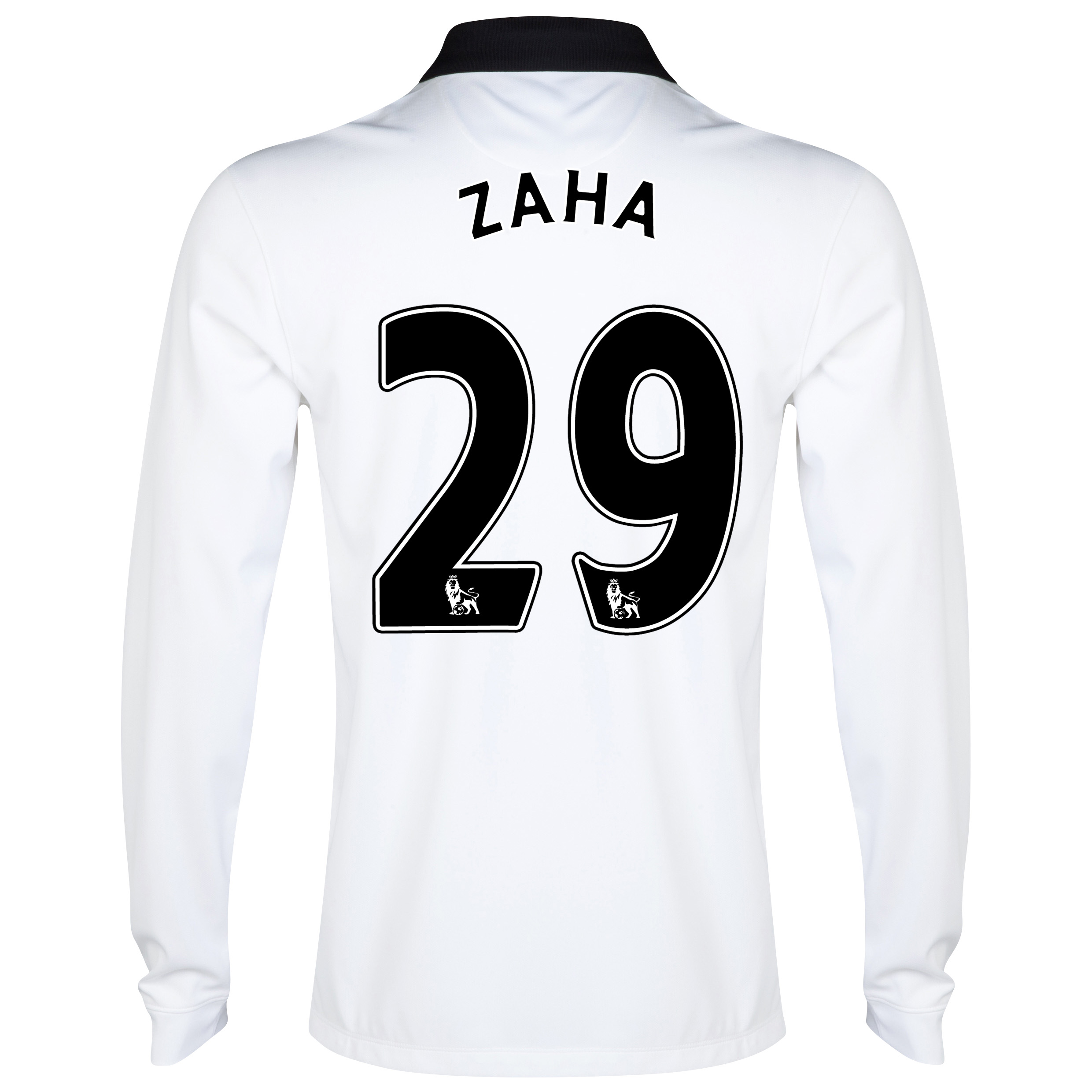 Manchester United Away Shirt 2014/15 - Long Sleeve White with Zaha 29 printing