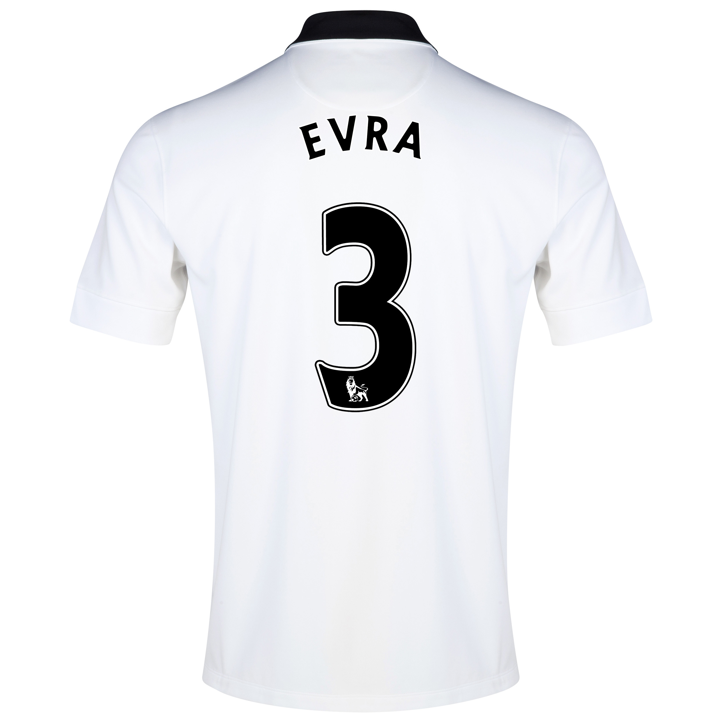 Manchester United Away Shirt 2014/15 - Kids White with Evra 3 printing