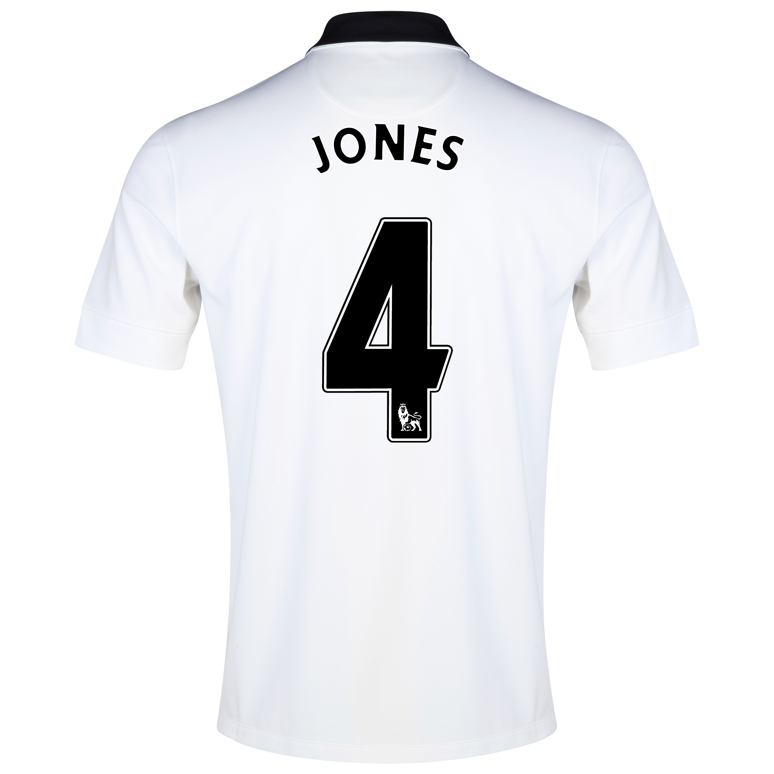 Manchester United Away Shirt 2014/15 - Kids White with Jones 4 printing