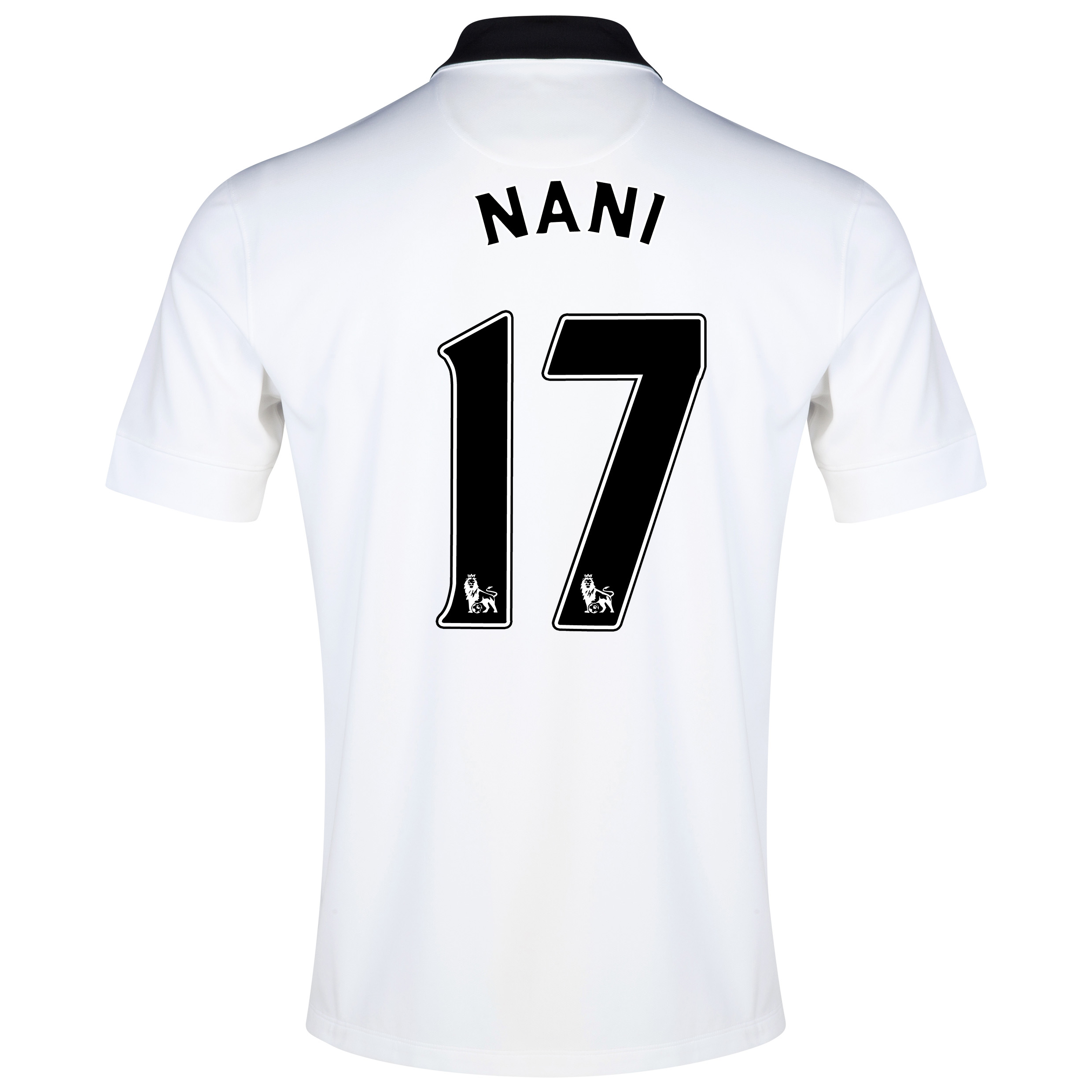 Manchester United Away Shirt 2014/15 - Kids White with Nani 17 printing