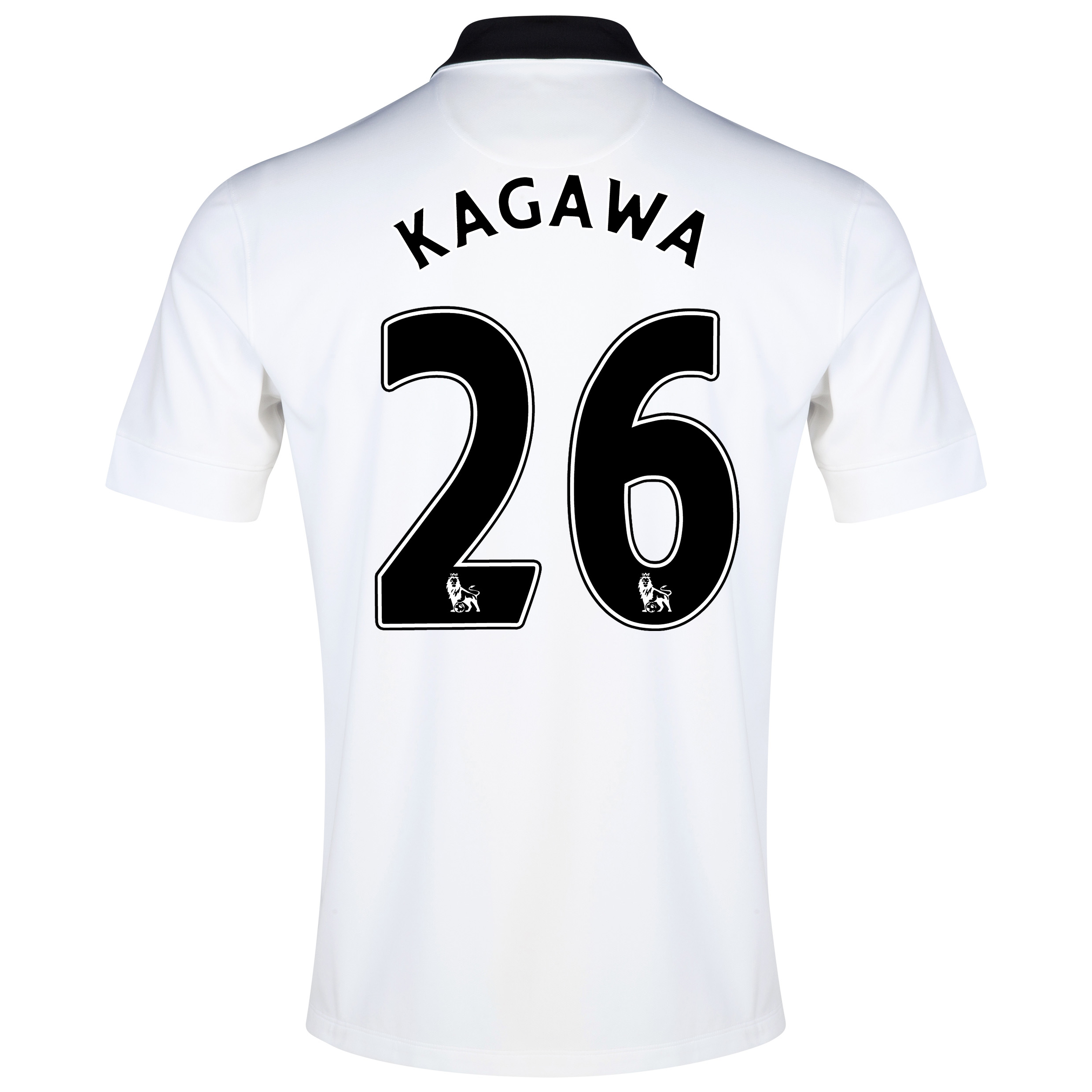 Manchester United Away Shirt 2014/15 - Kids White with Kagawa 26 printing