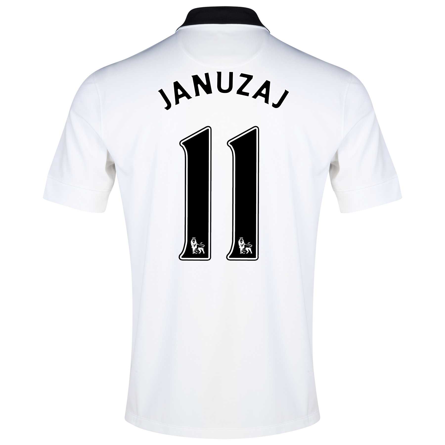 Manchester United Away Shirt 2014/15 - Kids White with Januzaj 11 printing