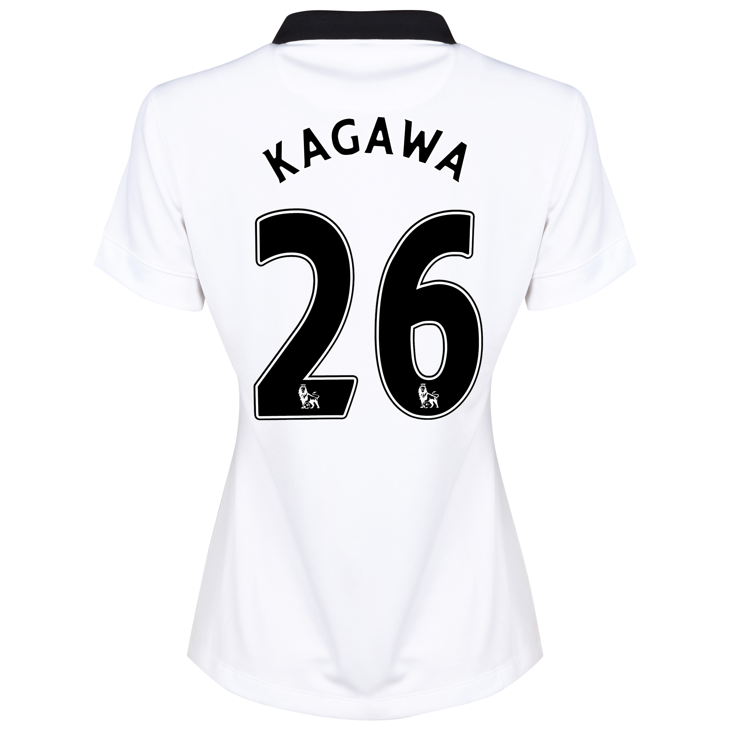 Manchester United Away Shirt 2014/15 - Womens White with Kagawa 26 printing