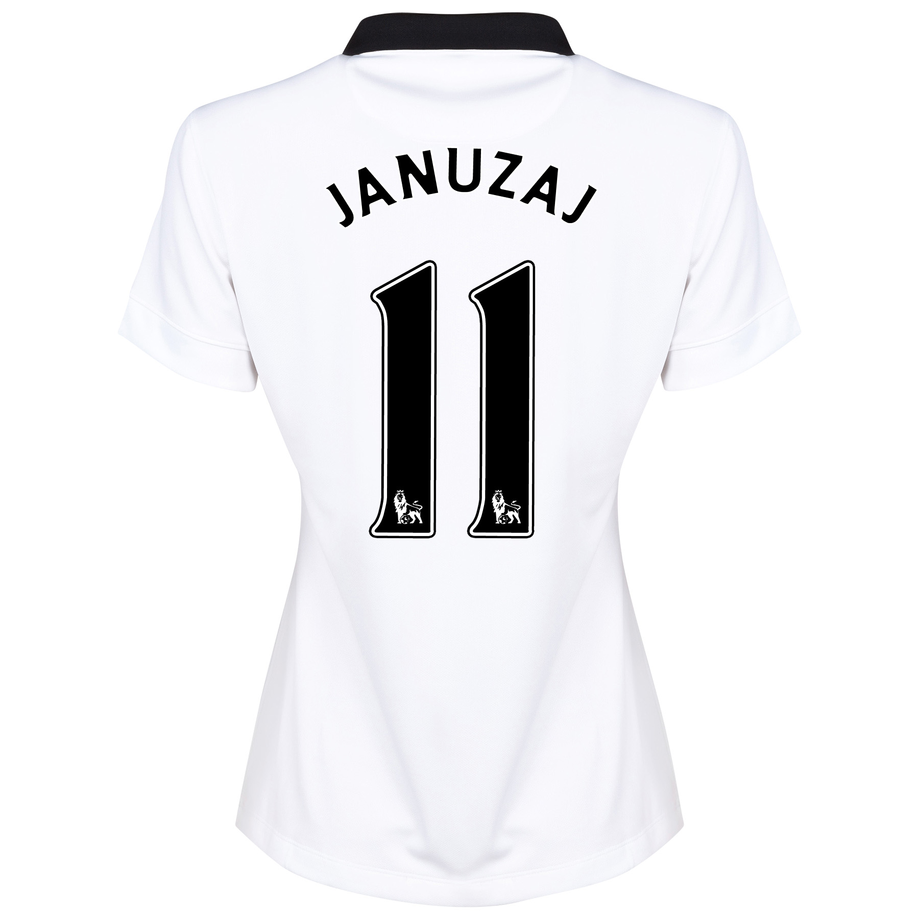 Manchester United Away Shirt 2014/15 - Womens White with Januzaj 11 printing