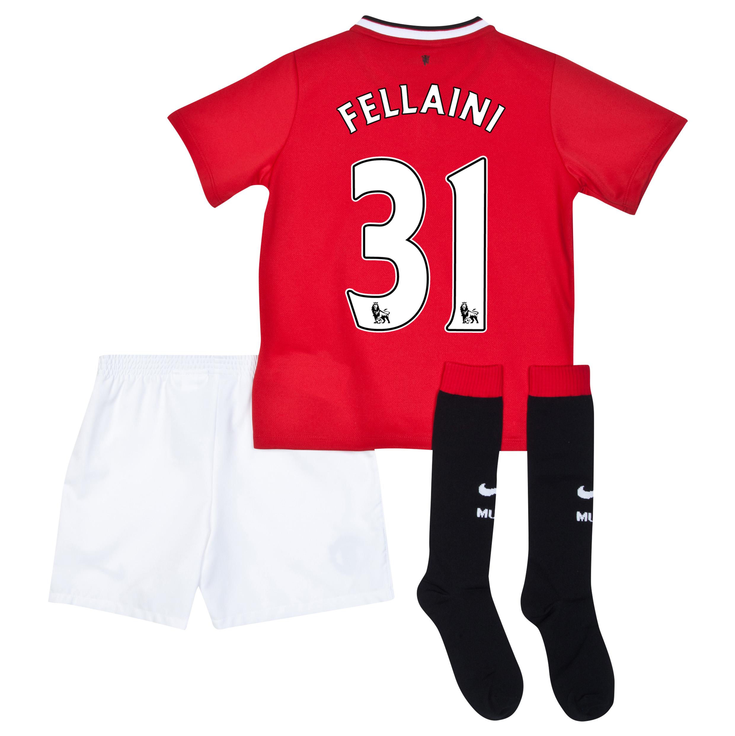Manchester United Home Kit 2014/15 - Little Boys with Fellaini 31 printing