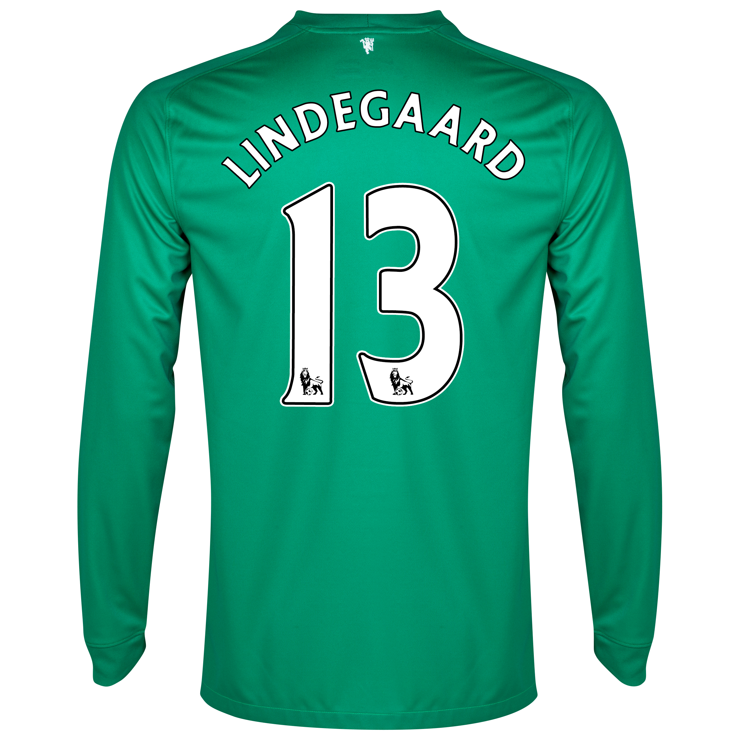 Manchester United Goalkeeper Shirt 2014/15 with Lindegaard 13 printing