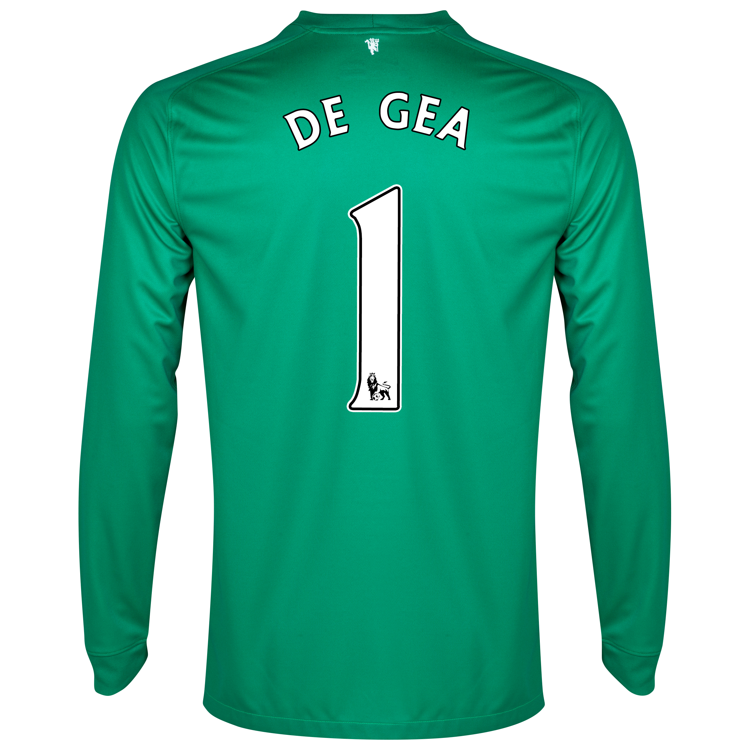 Manchester United Goalkeeper Shirt 2014/15 - Kids with De Gea 1 printing