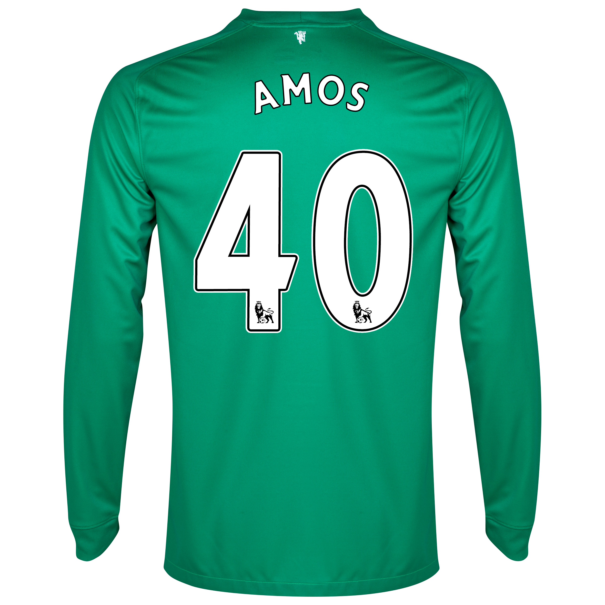 Manchester United Goalkeeper Shirt 2014/15 - Kids with Amos 40 printing