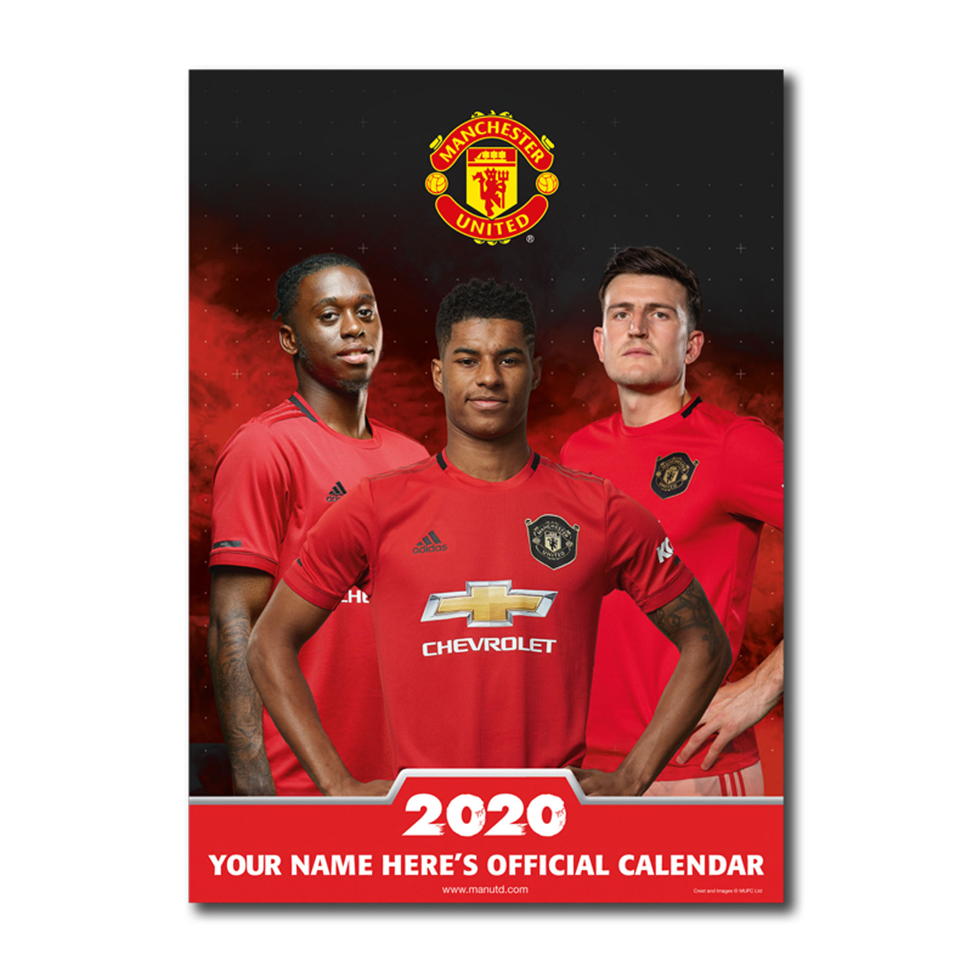 Manchester United 2013 Personalised Calendar