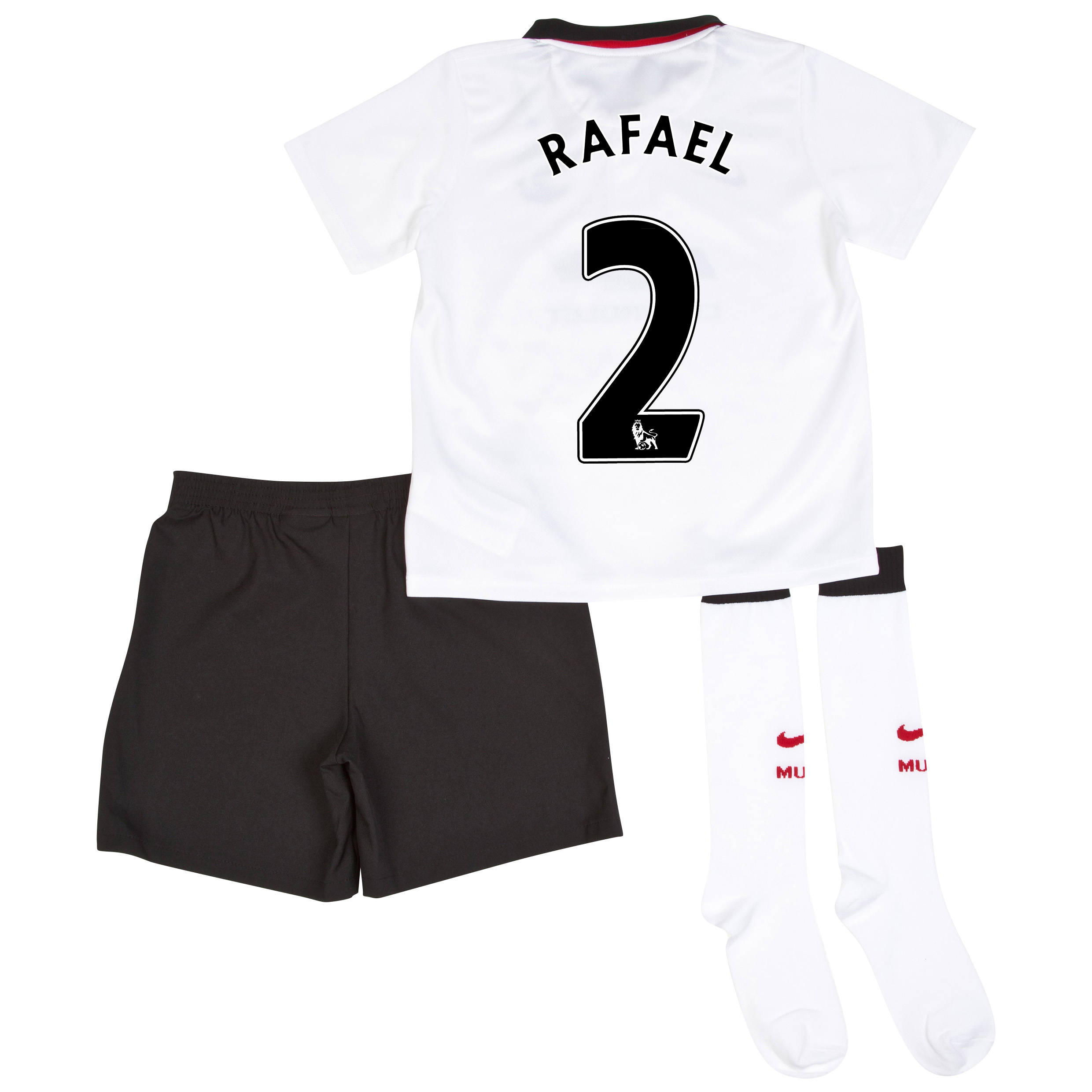 Manchester United Away Kit 2014/15 - Little Boys with Rafael 2 printing