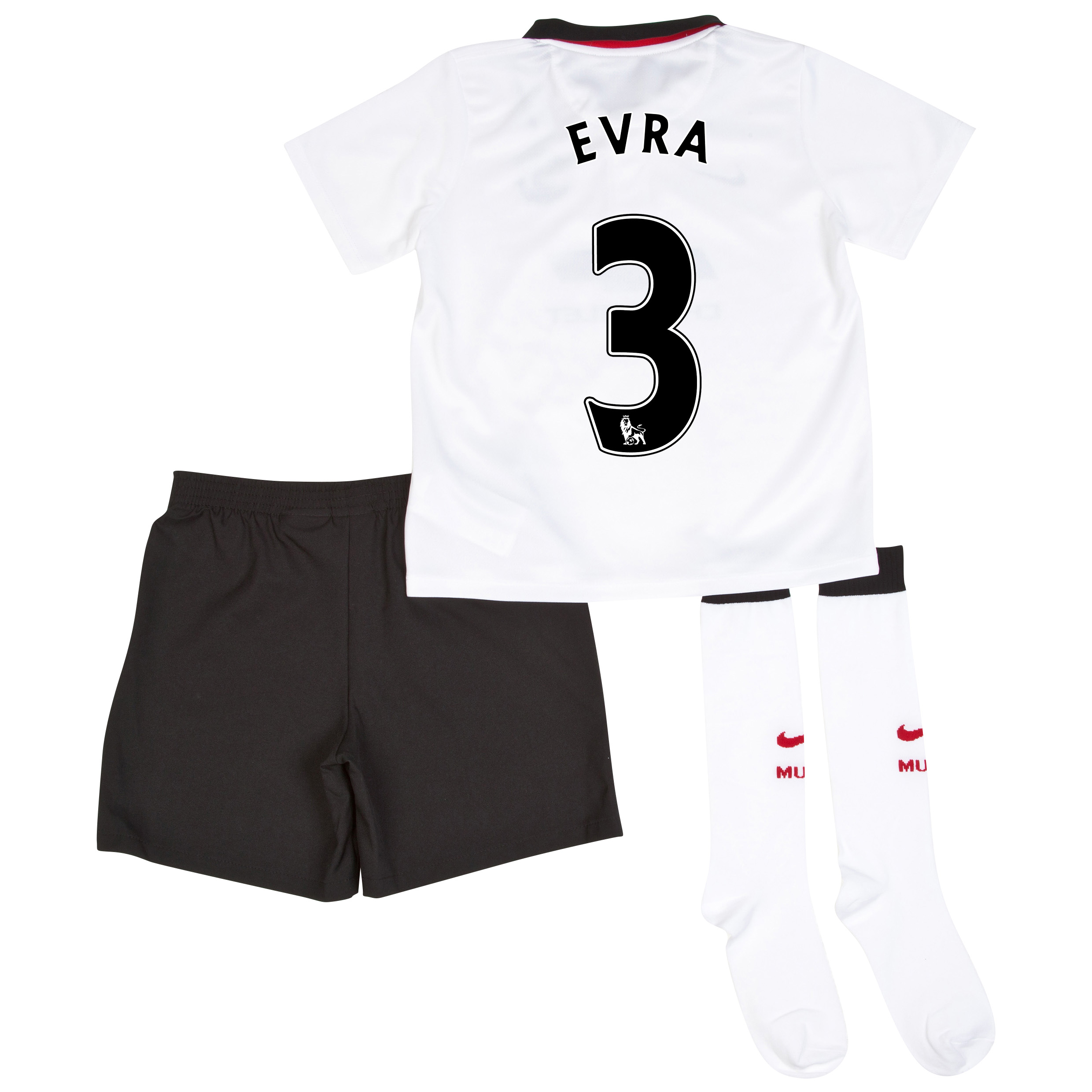 Manchester United Away Kit 2014/15 - Little Boys with Evra 3 printing
