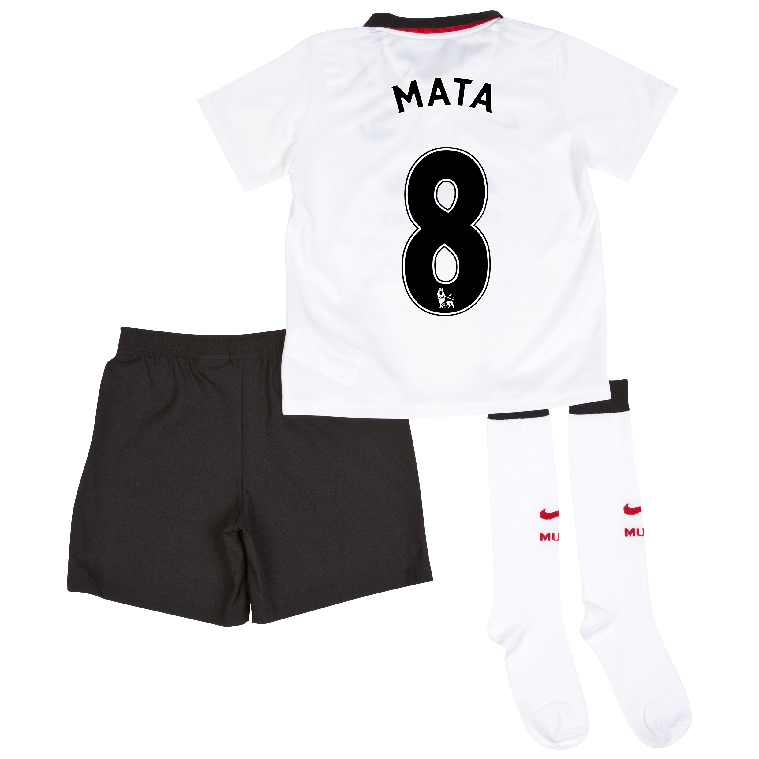 Manchester United Away Kit 2014/15 - Little Boys with Mata 8 printing